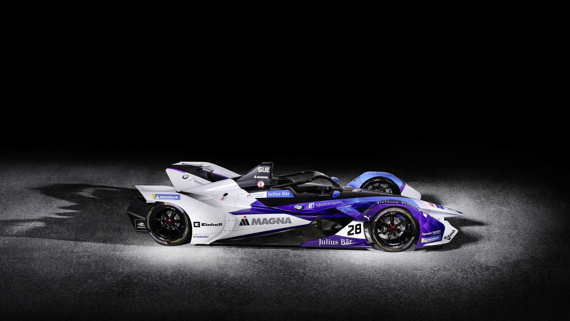 BMW iFE.20 Formula E race car