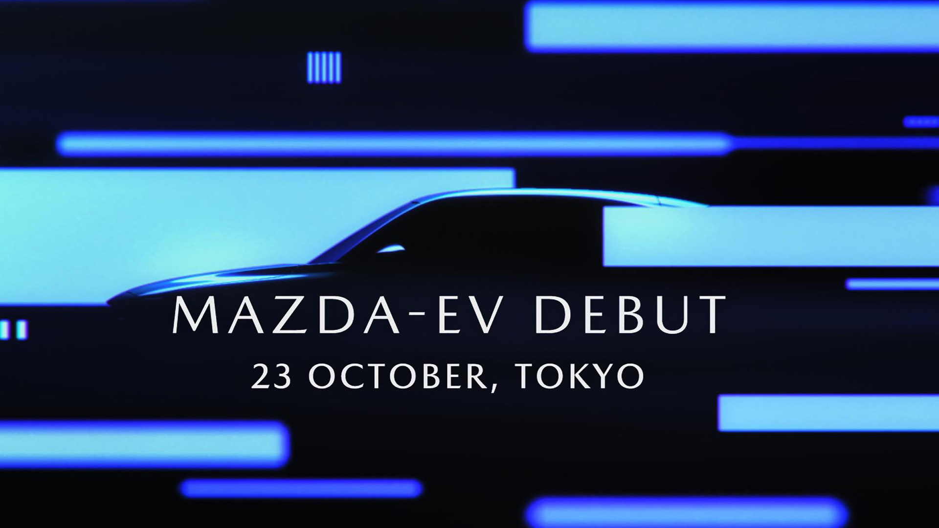 Teaser for Mazda electric SUV debuting at 2019 Tokyo Motor Show