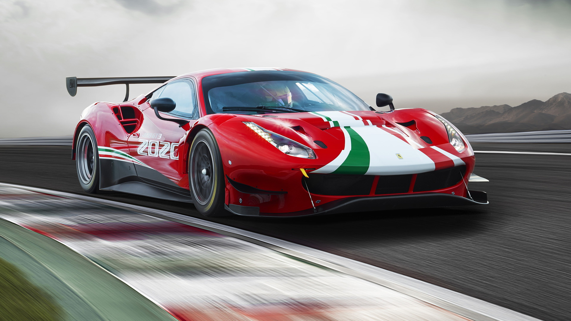 2020 Ferrari 488 GT3 Evo race car