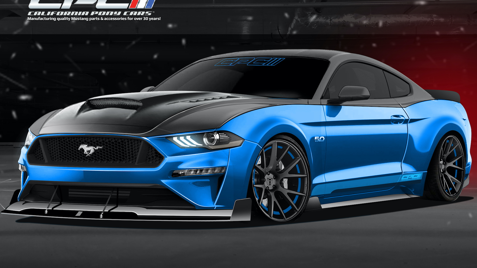 California Pony Cars 2020 Ford Mustang GT Fastback