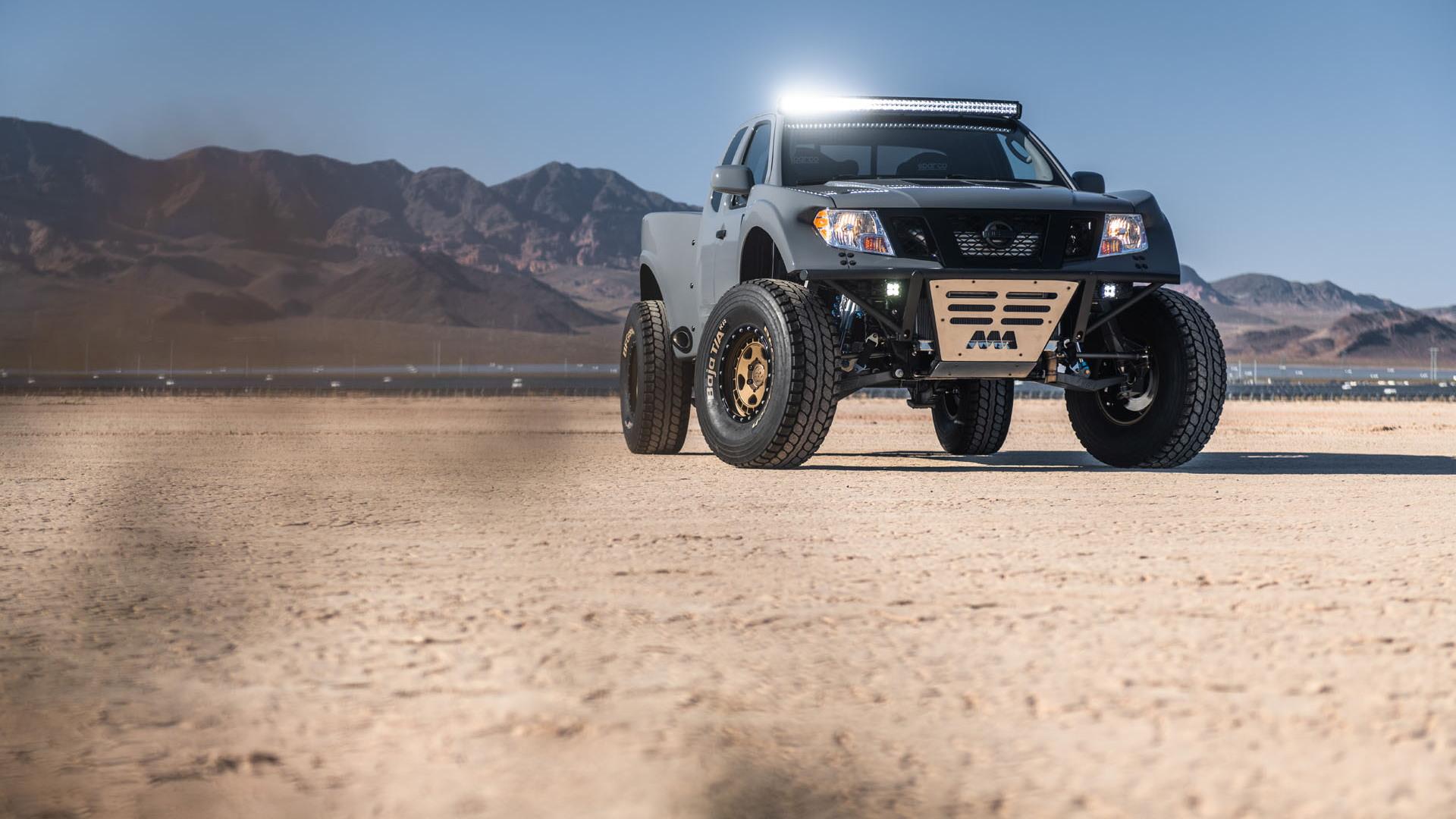 Nissan Frontier Desert Runner SEMA