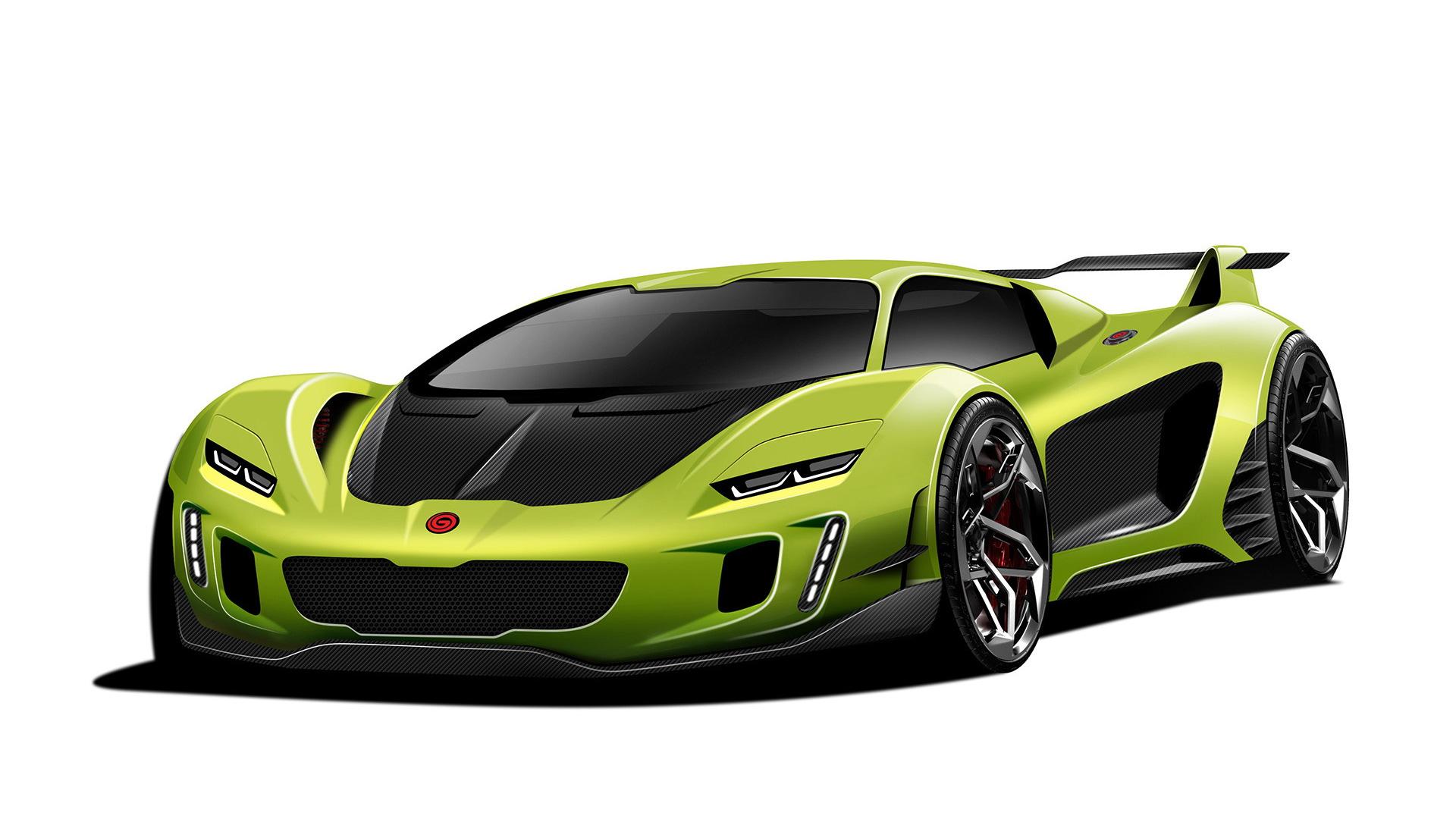 Teaser for Gemballa supercar