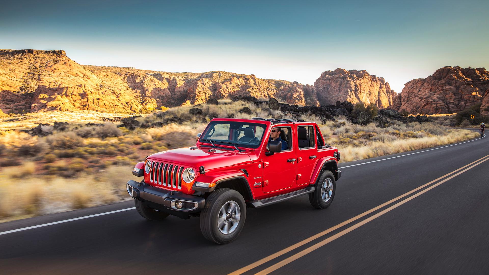 2020 Jeep Wrangler Sahara EcoDiesel