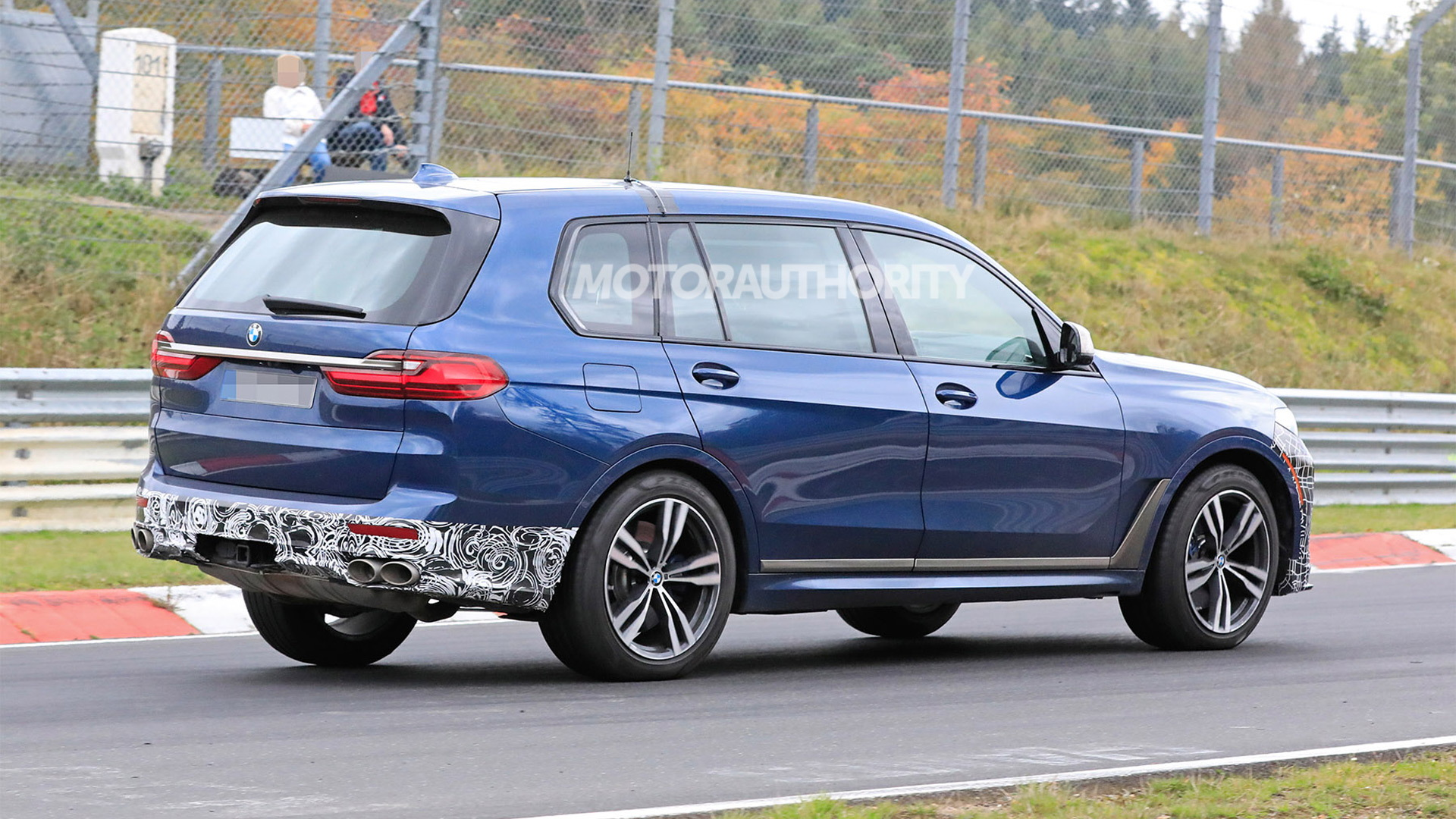2021 BMW Alpina XB7 spy shots - Photo credit: S. Baldauf/SB-Medien