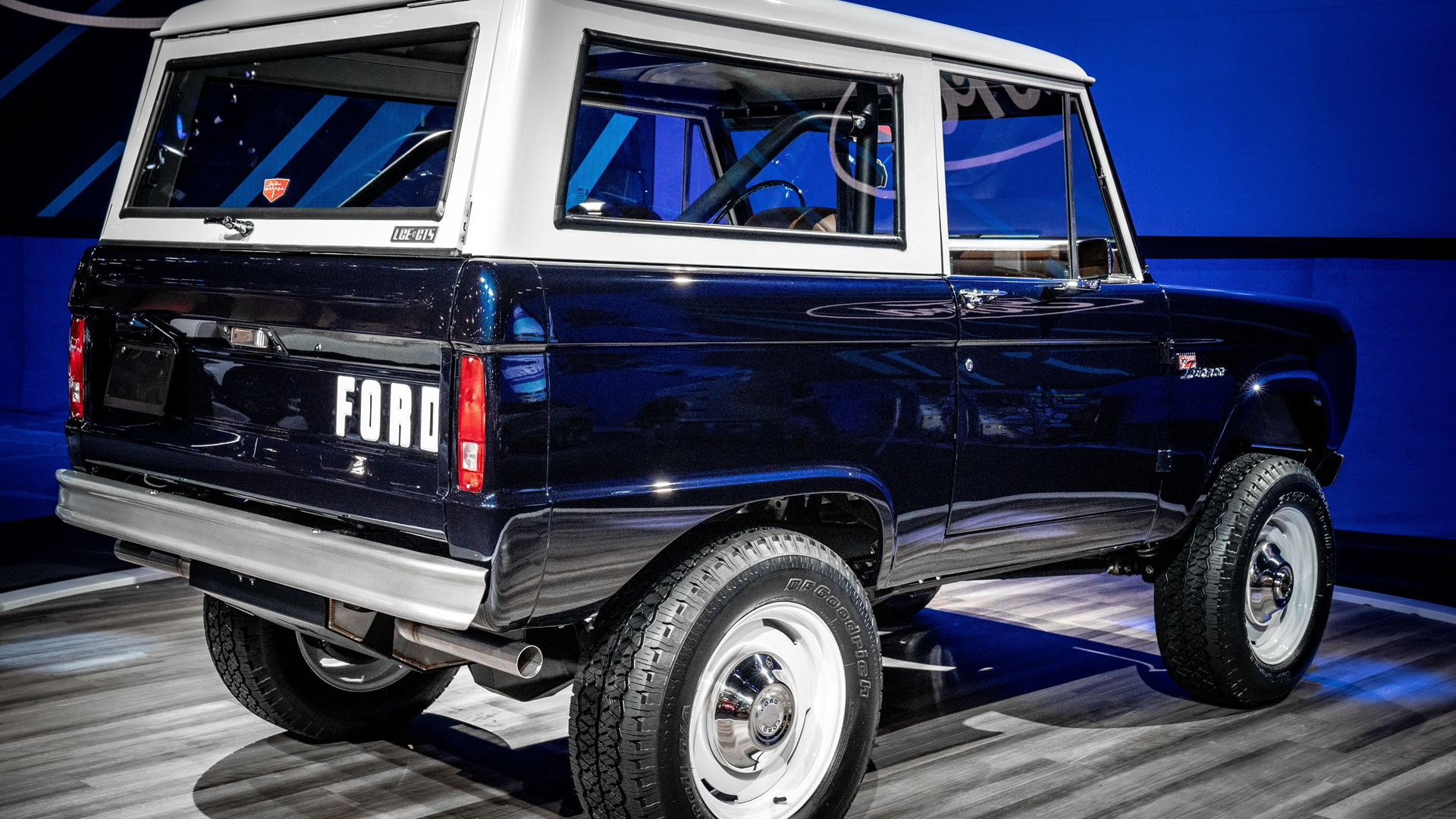Jay Leno's 1968 Ford Bronco restored by LGE-CTS Motorsports