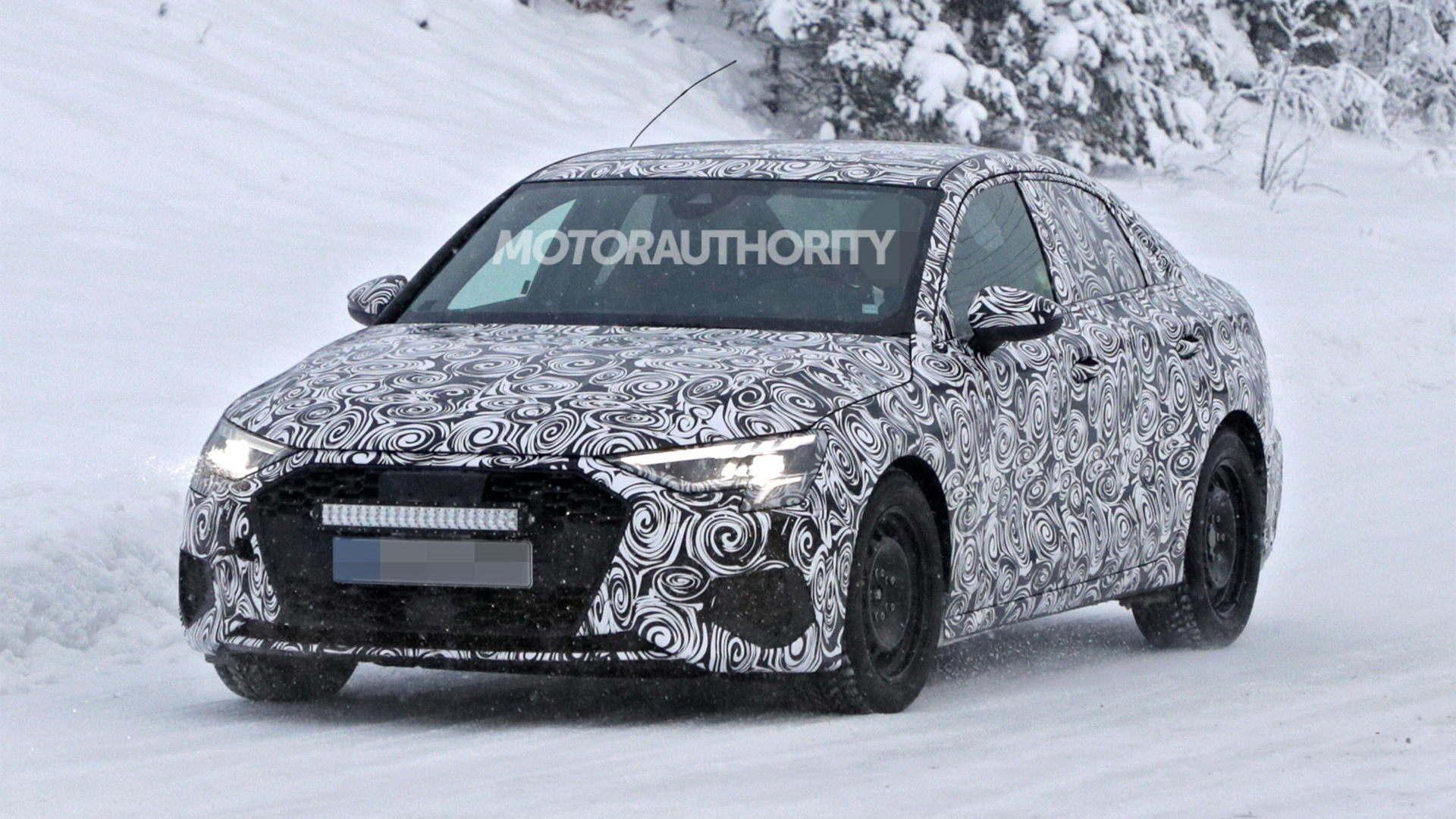 2021 Audi A3 spy shots - Photo credit: S. Baldauf/SB-Medien