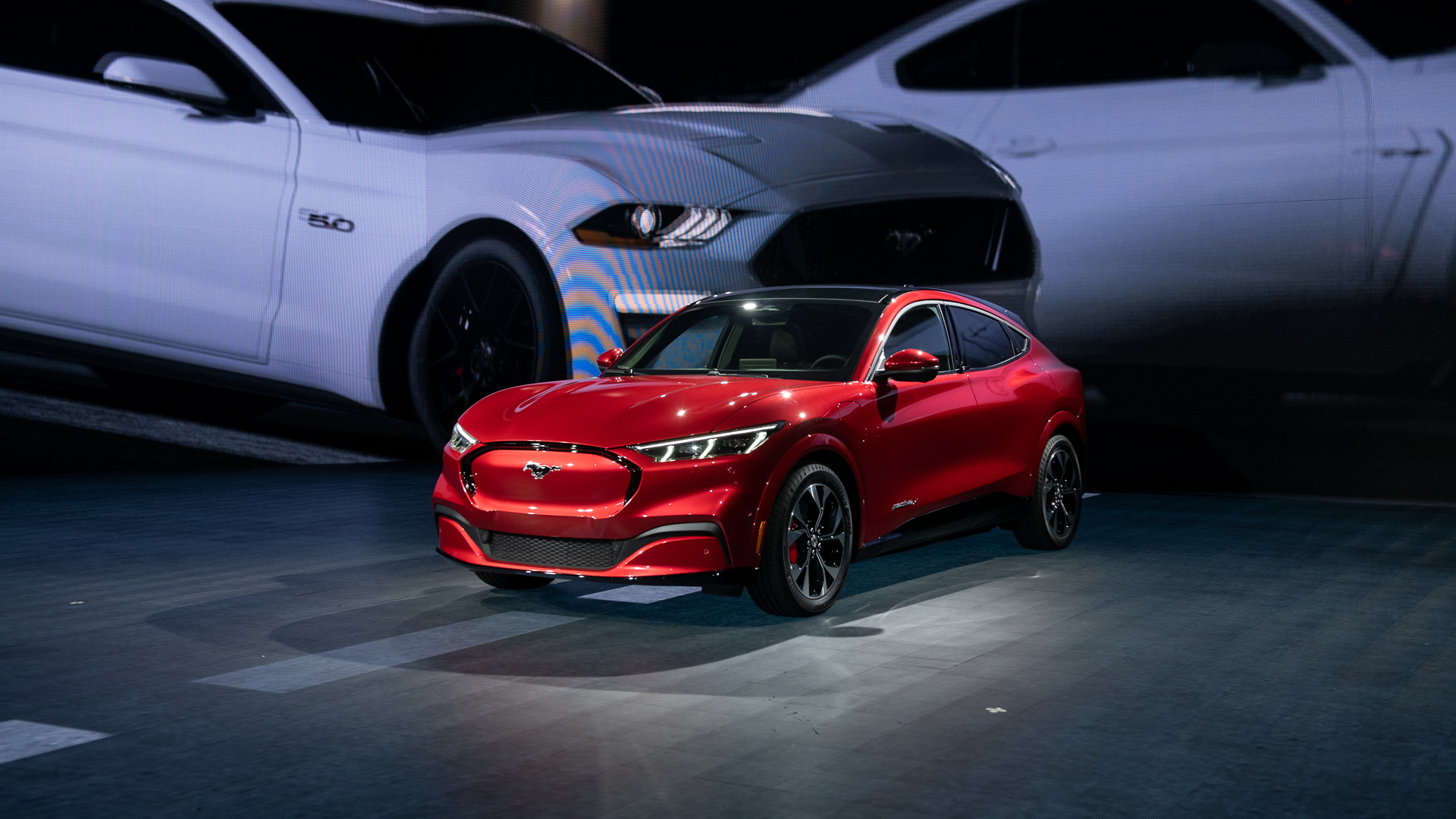 2021 Ford Mustang Mach-E, 2019 LA Auto Show