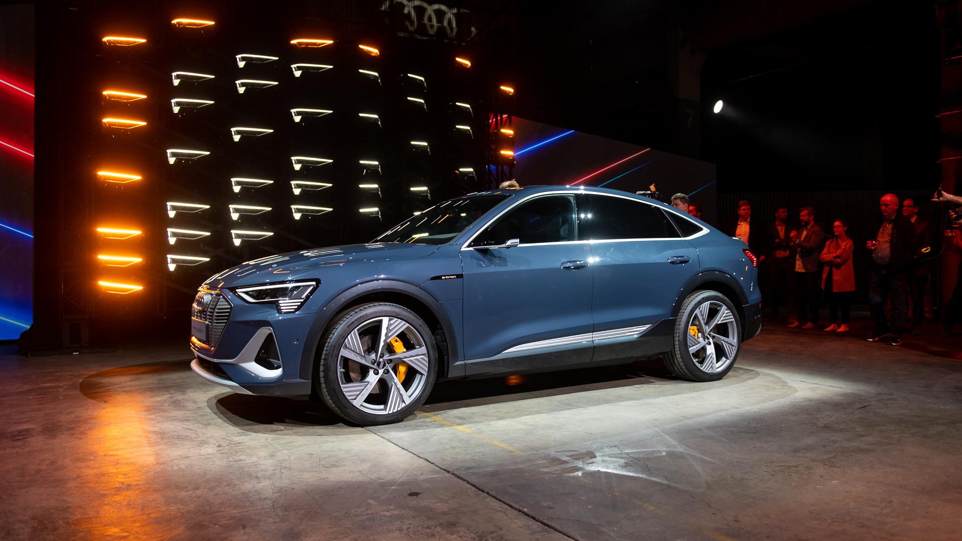 LA Auto Show - Audi E-tron Sportback
