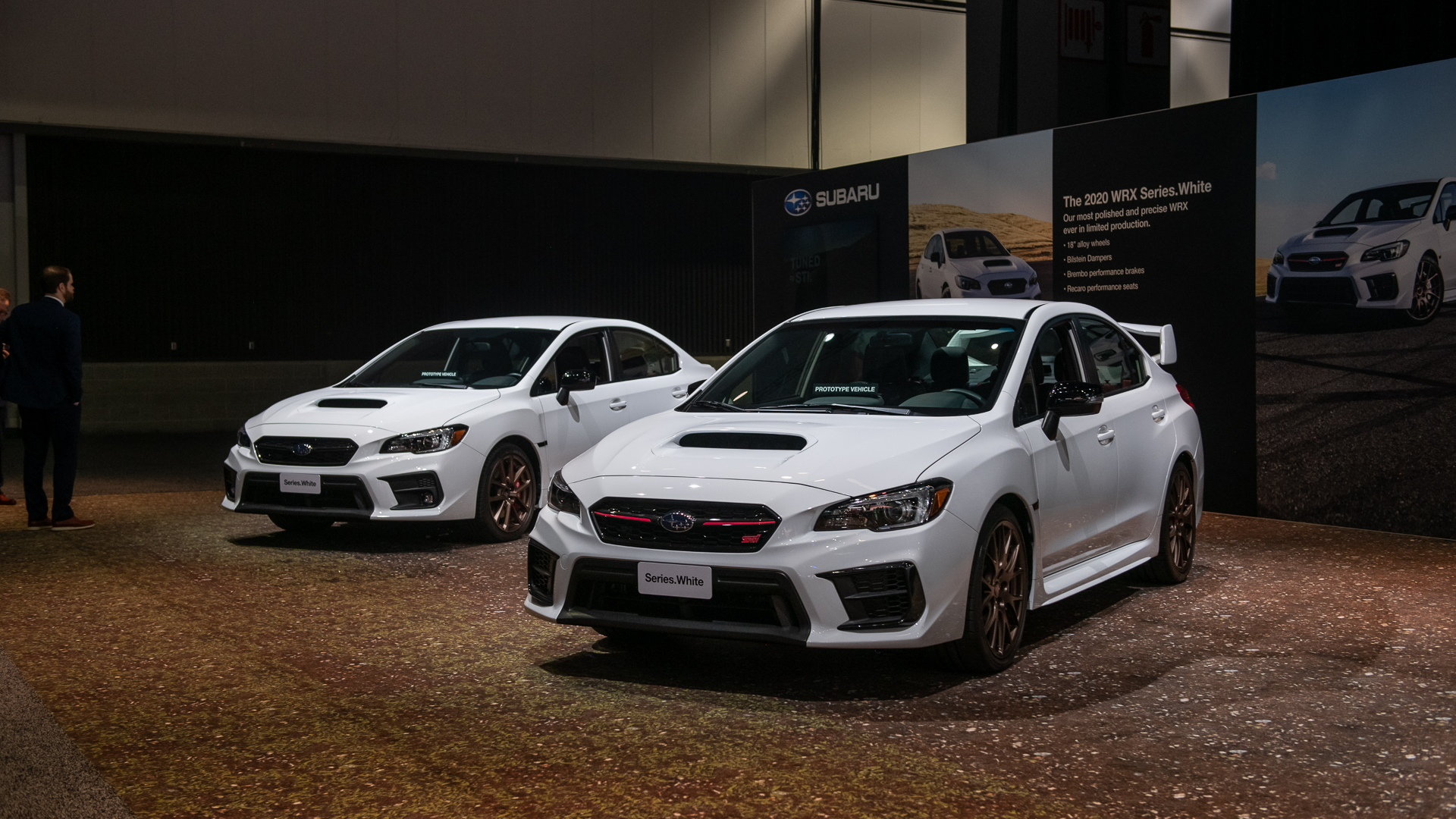 2020 Subaru Wrx And Wrx Sti Receive Series White Specials