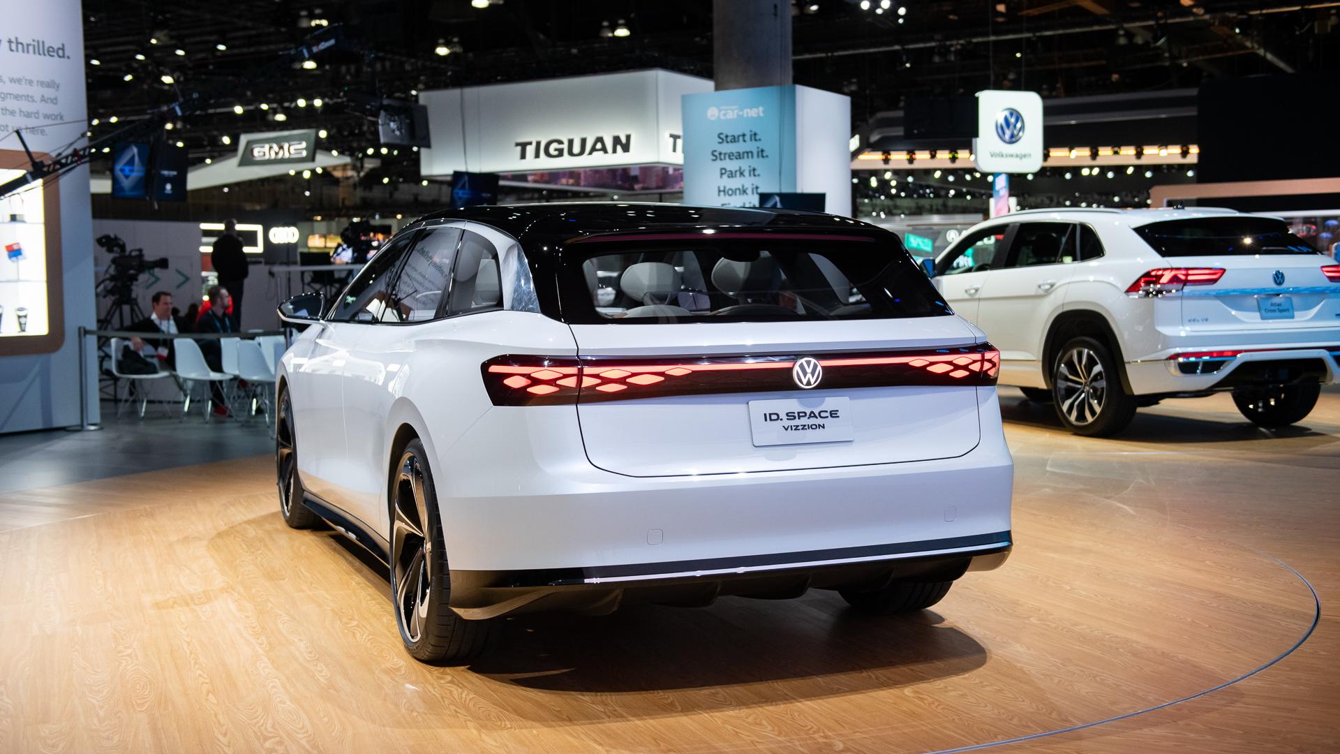 VW ID Space Vizzion, 2019 LA Auto Show