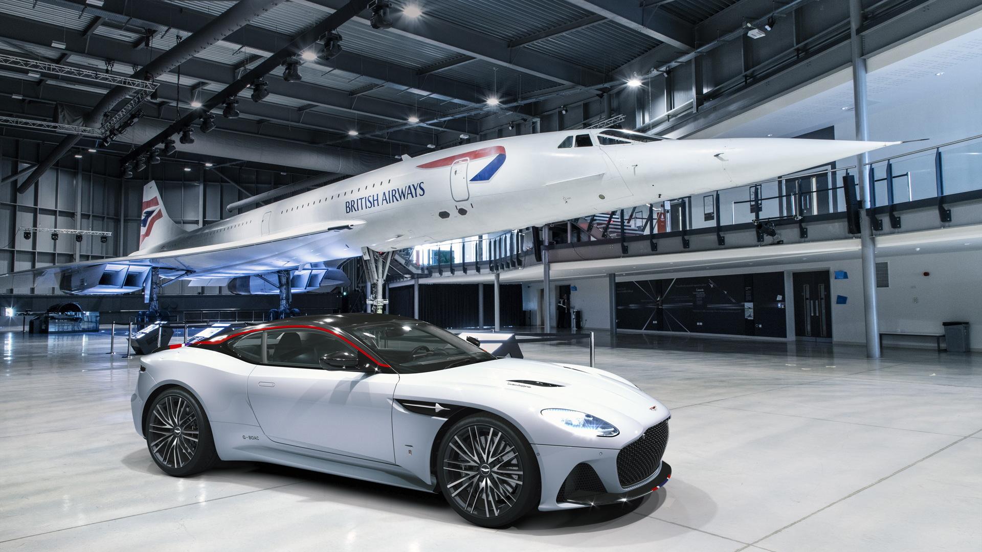 2019 Aston Martin DBS Superleggera Concorde edition