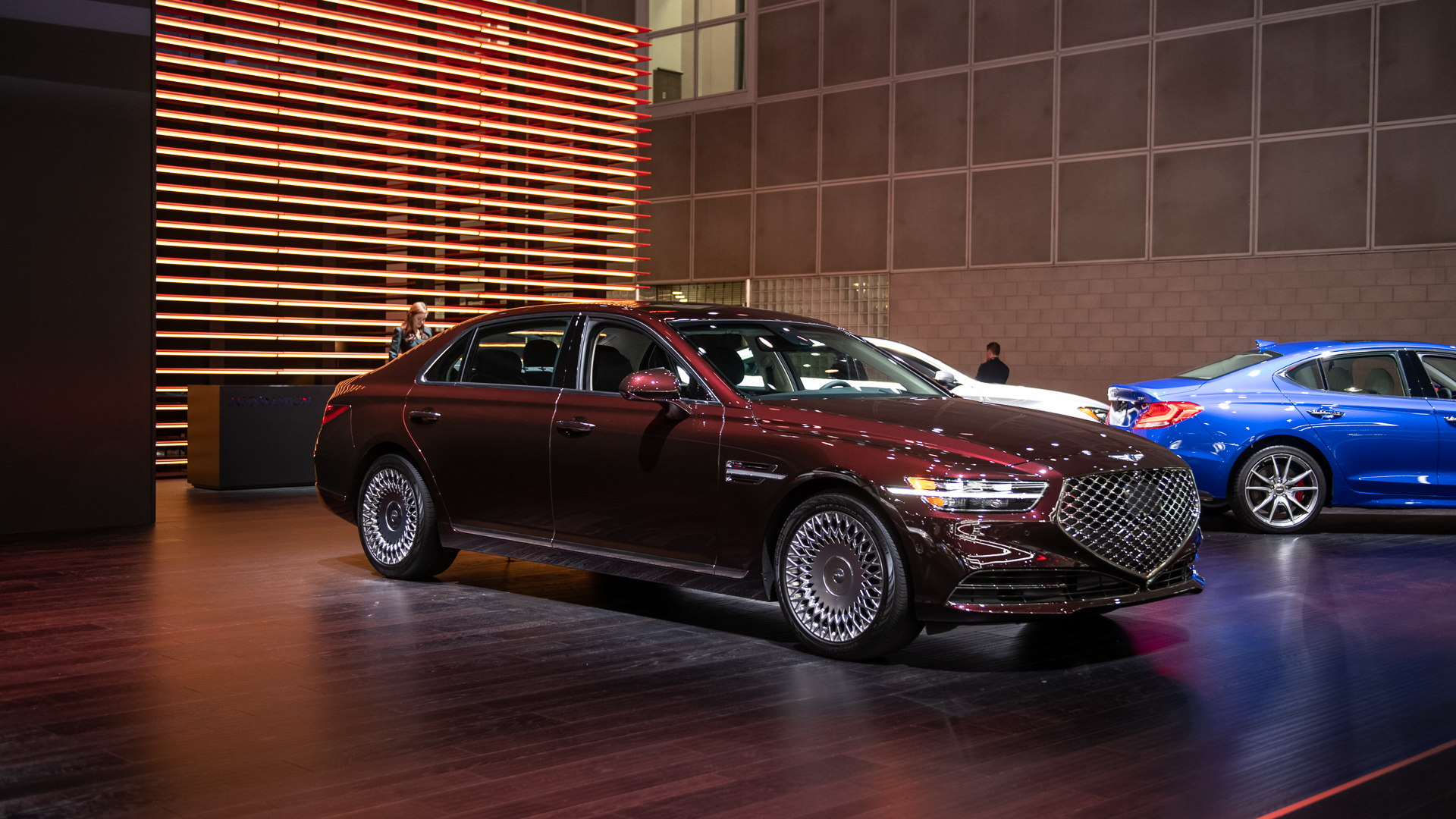2020 Genesis G90, 2019 LA Auto Show