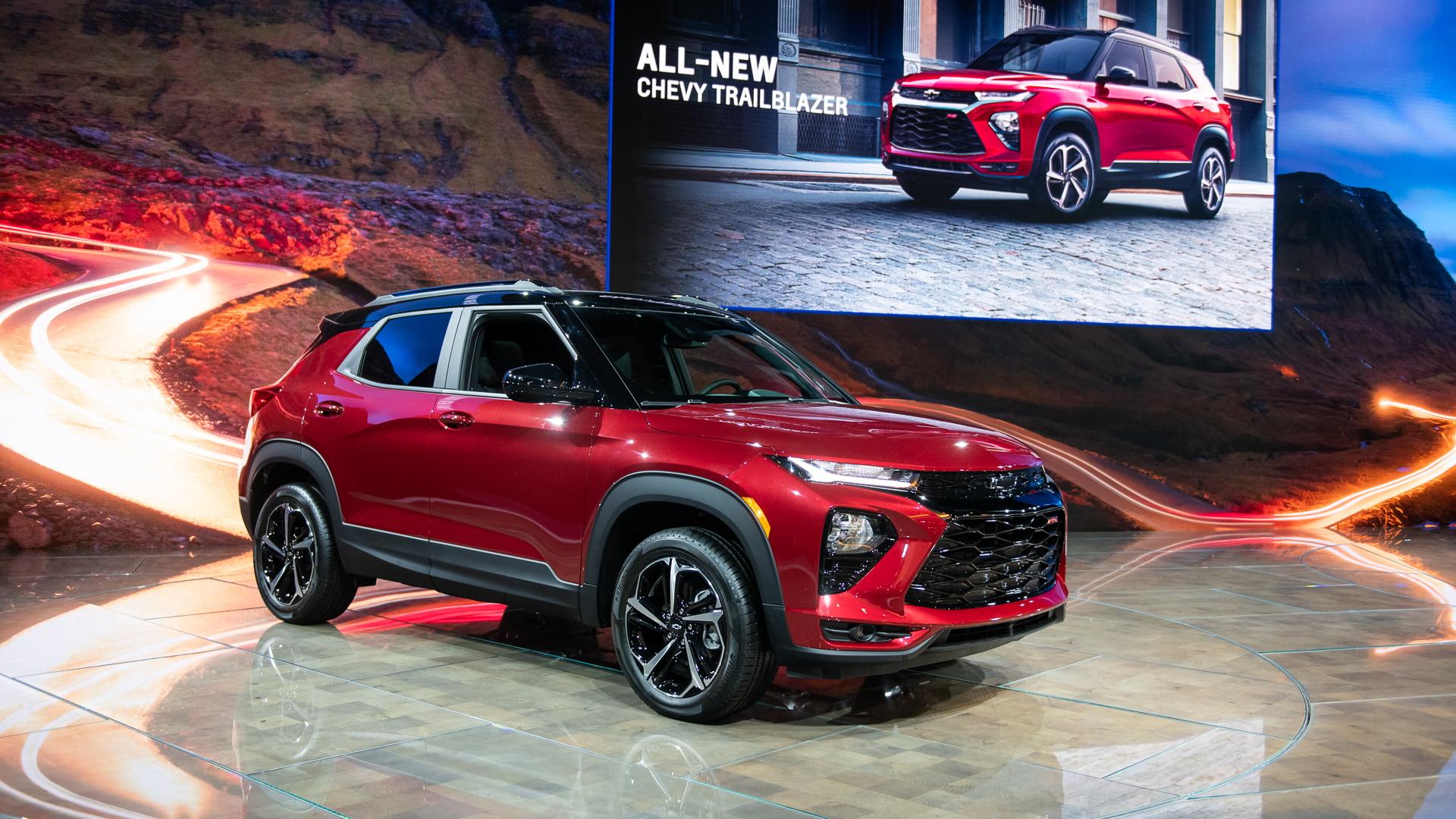 2021 Chevrolet Trailblazer debuts in LA with sub-$20,000 ...