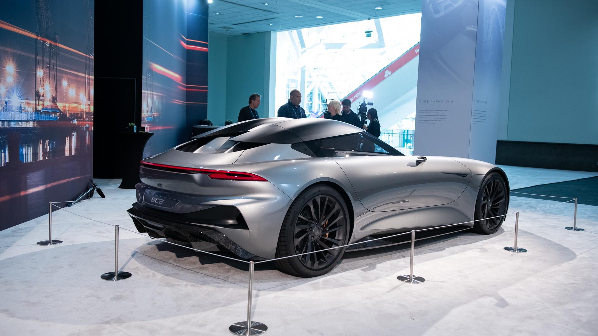Karma SC2, 2019 LA Auto Show
