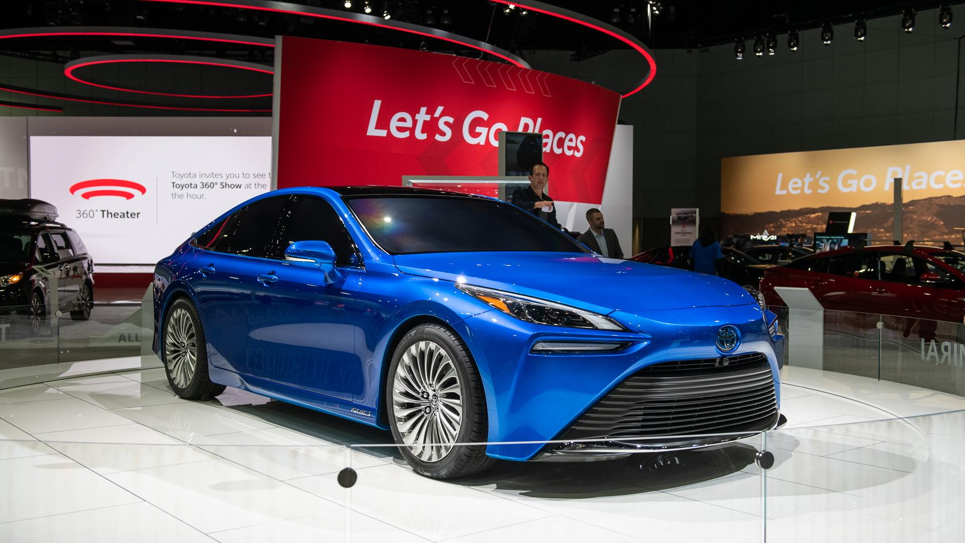 2021 Toyota Mirai concept, 2019 Los Angeles Auto Show