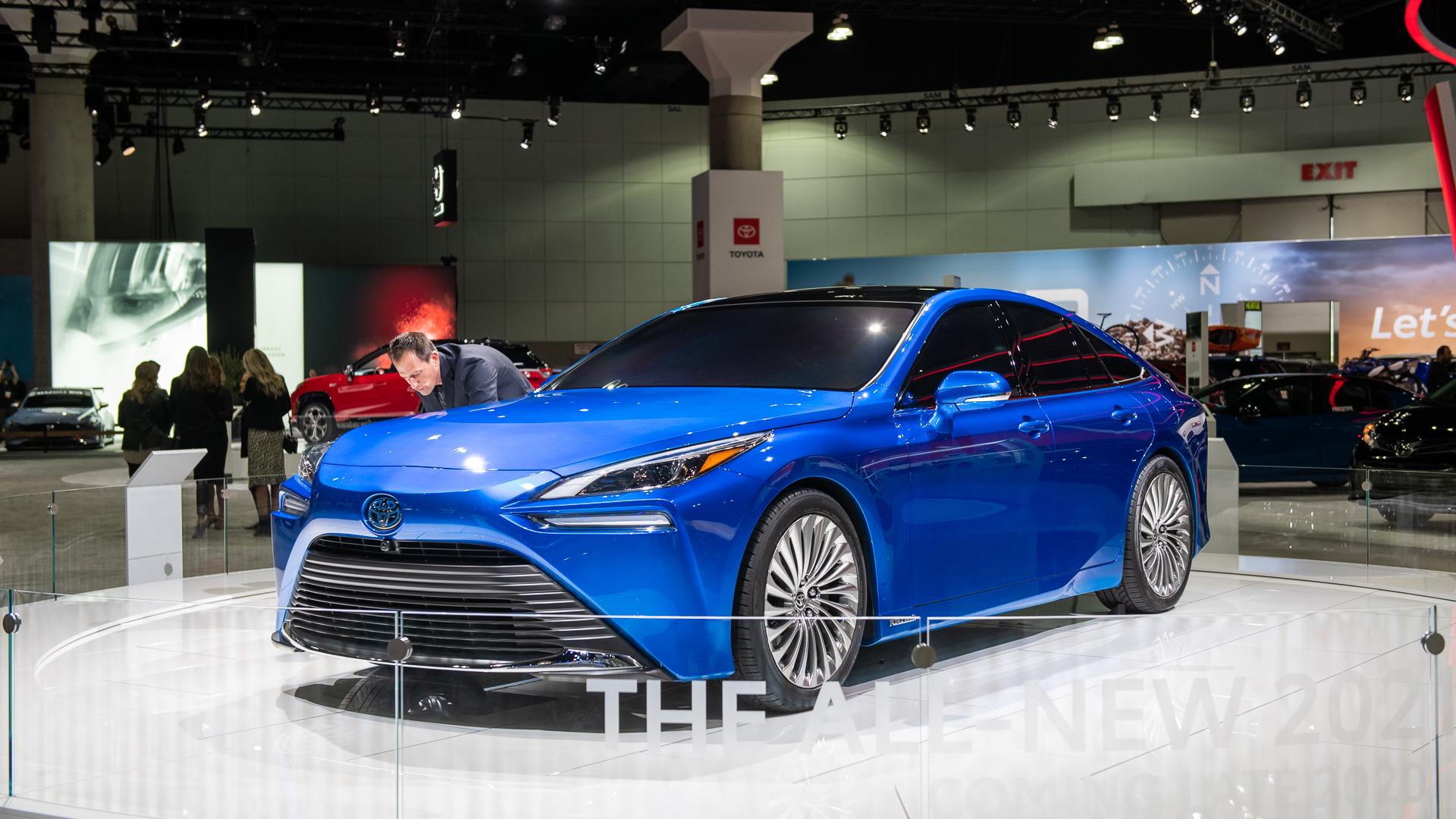 Toyota Mirai, 2019 LA Auto Show