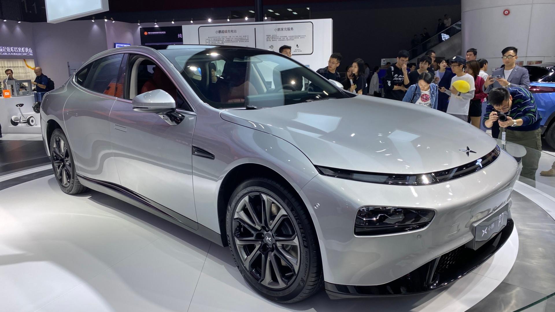 Xpeng P7  -  2019 Guangzhou Auto Show