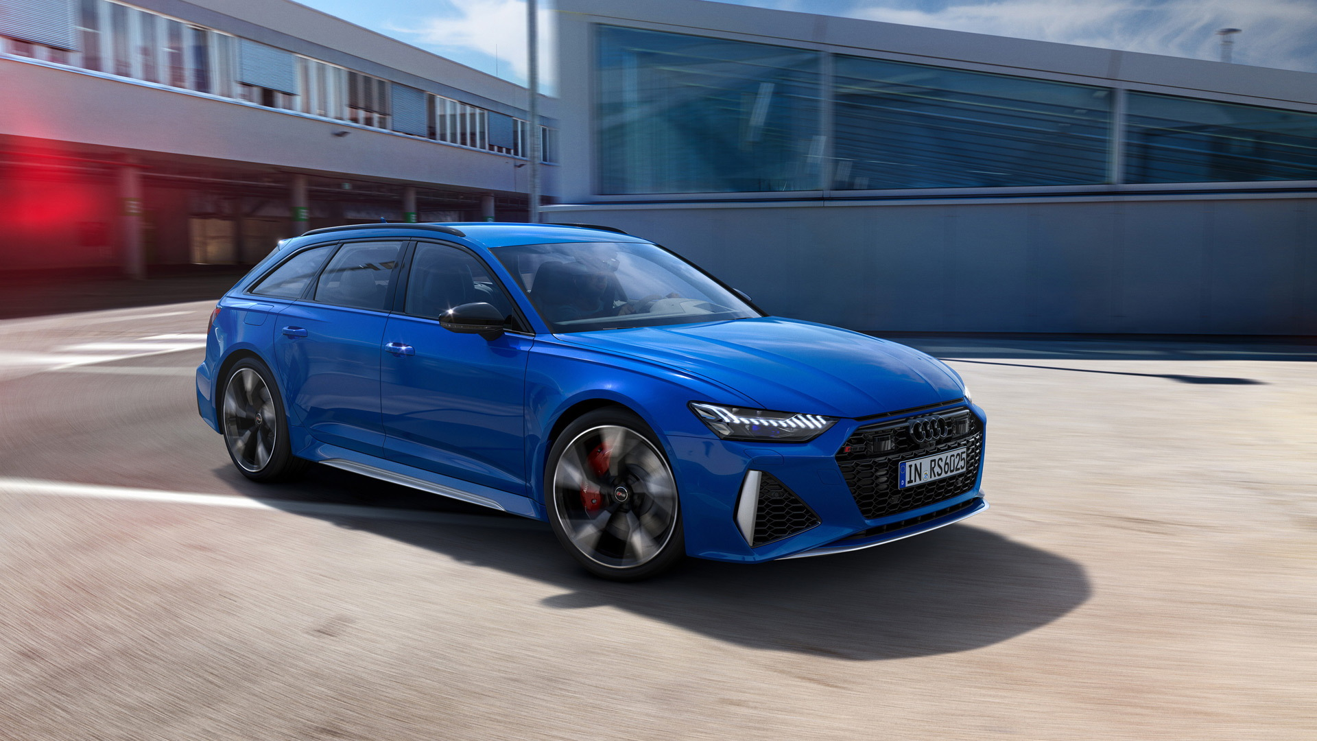 2020 Audi RS 6 Avant in Nogaro Blue