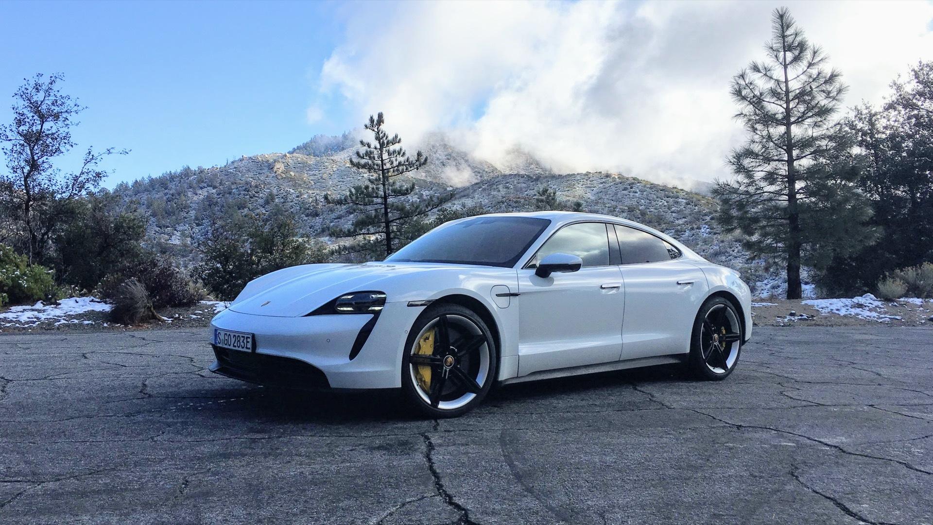 2020 Porsche Taycan 4S first drive  -  Los Angeles, CA