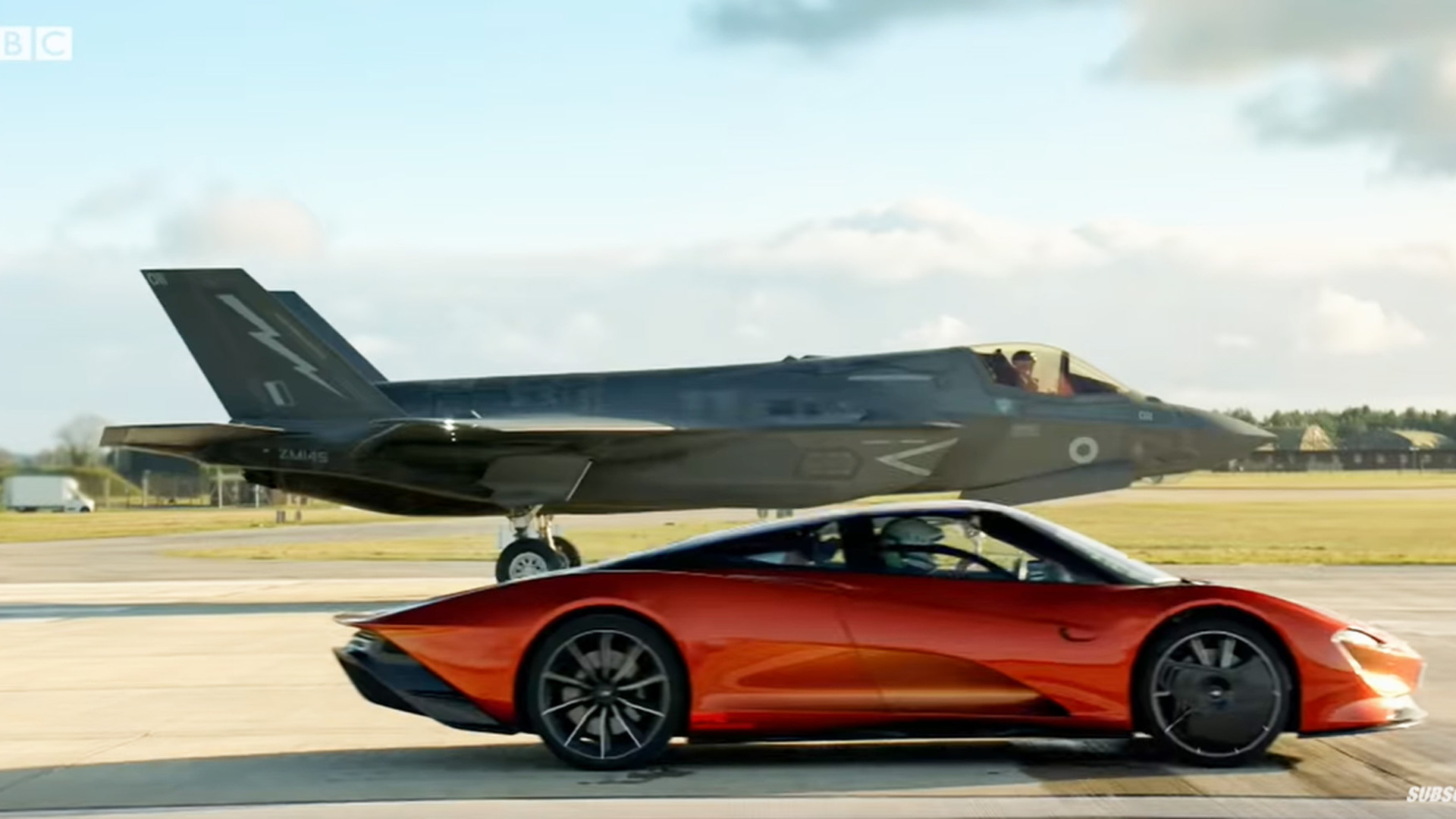 "Scene from ""Top Gear"" season 28 trailer"