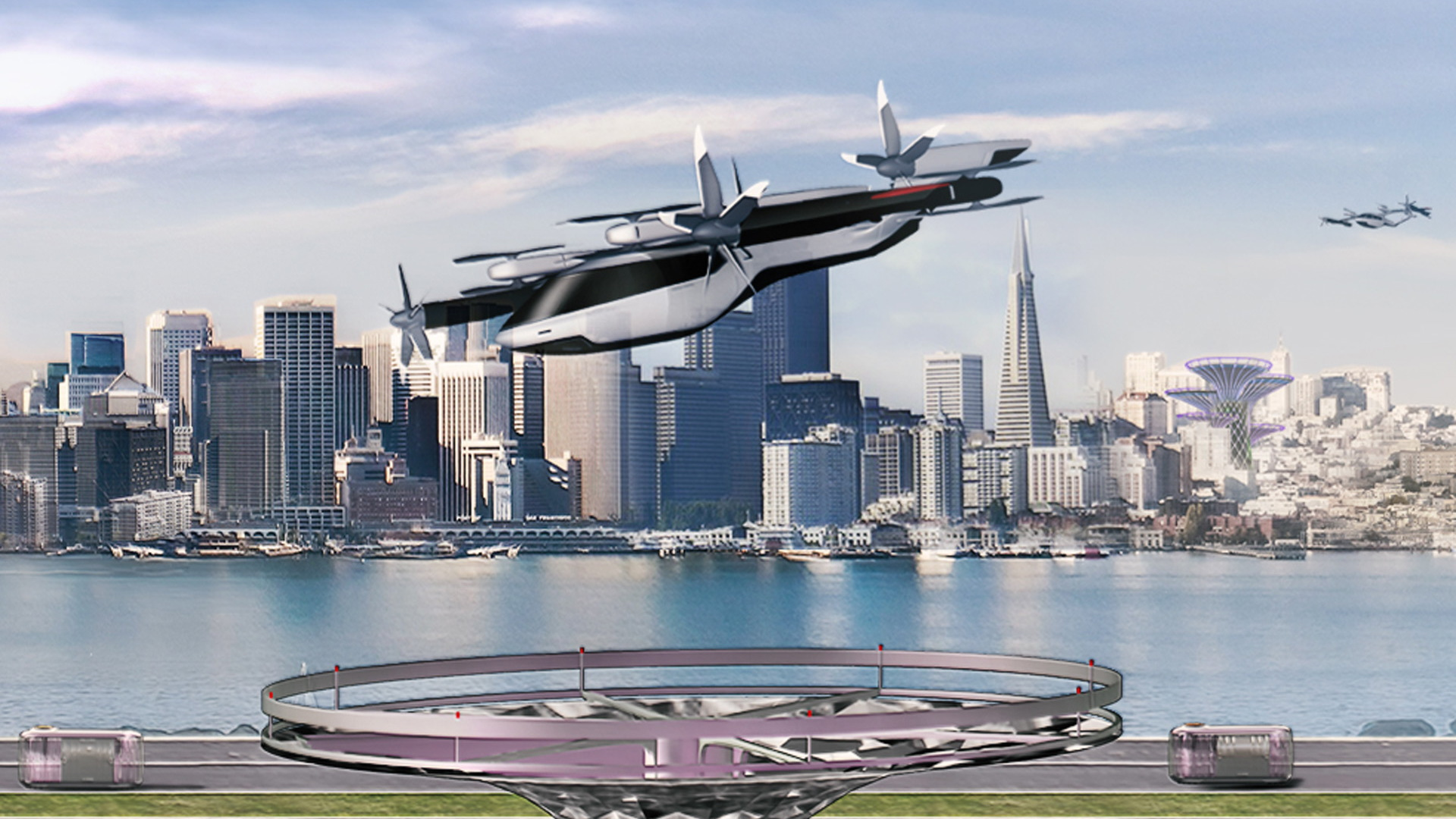 Hyundai Motor Group flying taxi concept