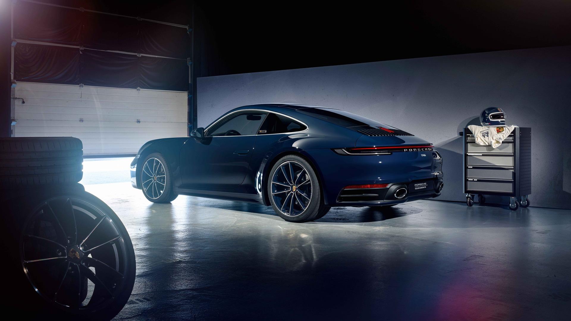 2020 Porsche 911 Carrera 4S Belgian Legend Edition
