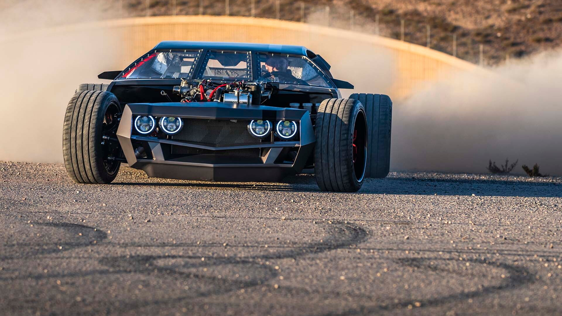 1968 Lamborghini Espada hot rod, photos by Alex Bellus Photography