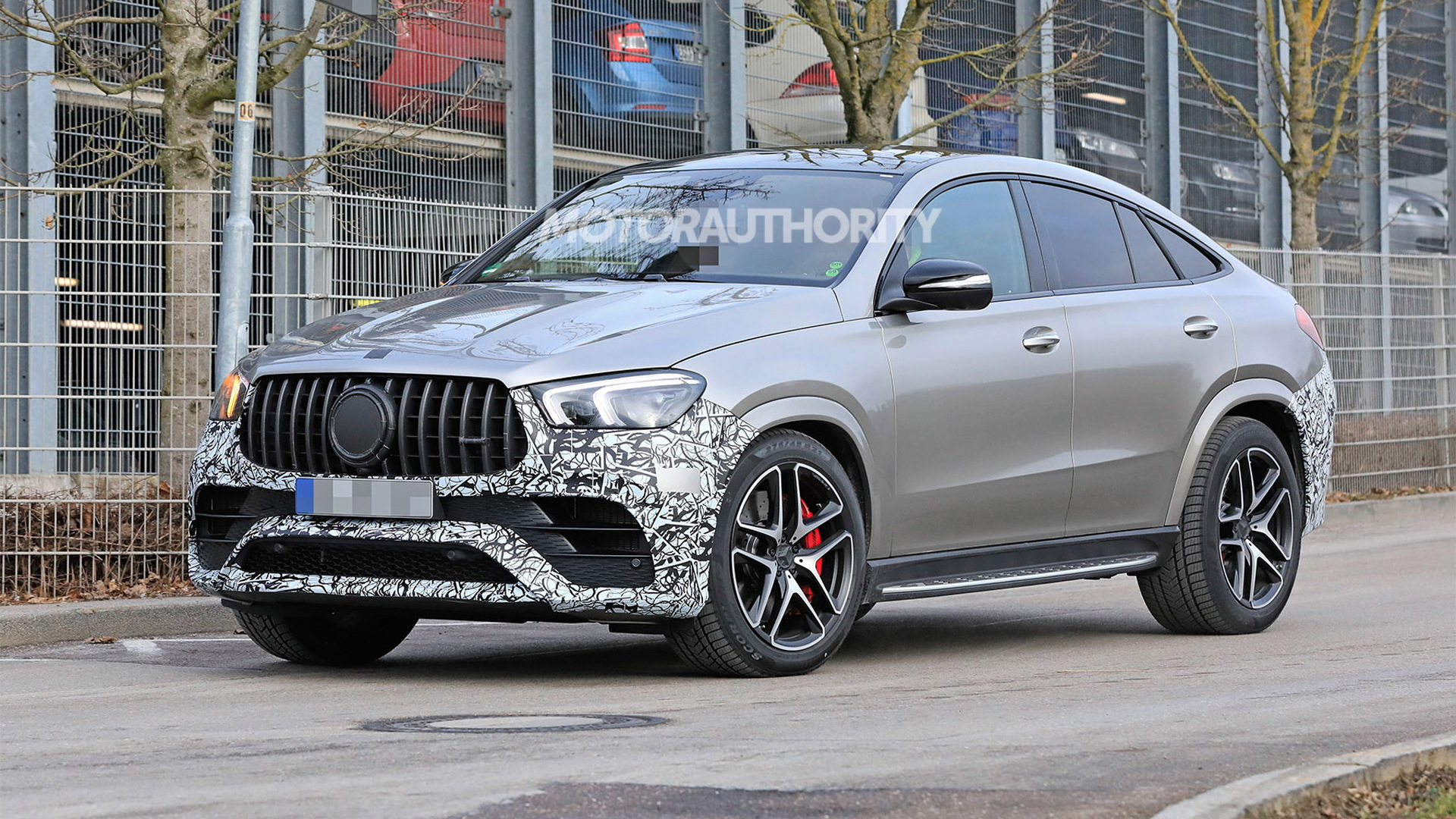 2021 Mercedes-AMG GLE63 Coupe spy shots - Photo credit: S. Baldauf/SB-Medien
