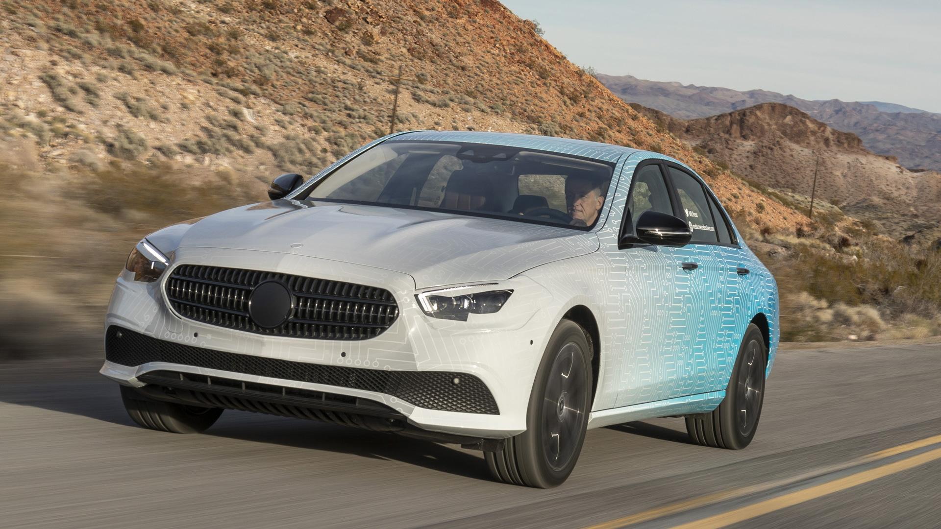 Teaser for 2021 Mercedes-Benz E-Class
