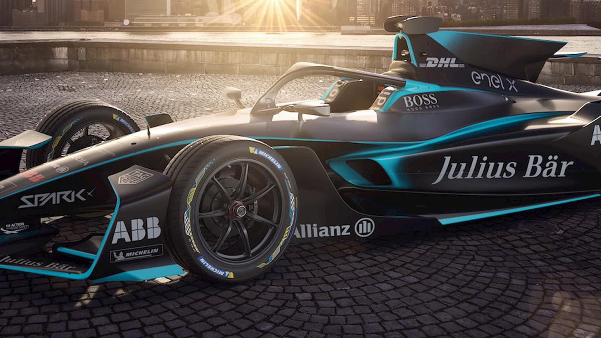 Formula E Gen2 Evo race car