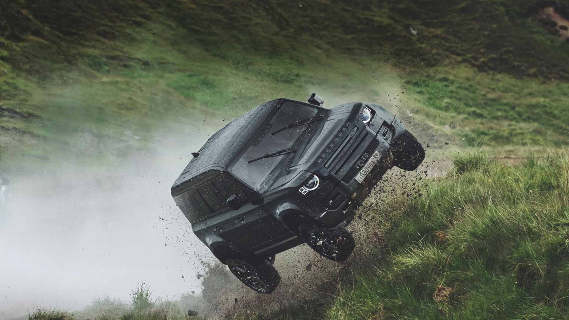 "2020 Land Rover Defender on the set of new James Bond movie ""No Time To Die"""