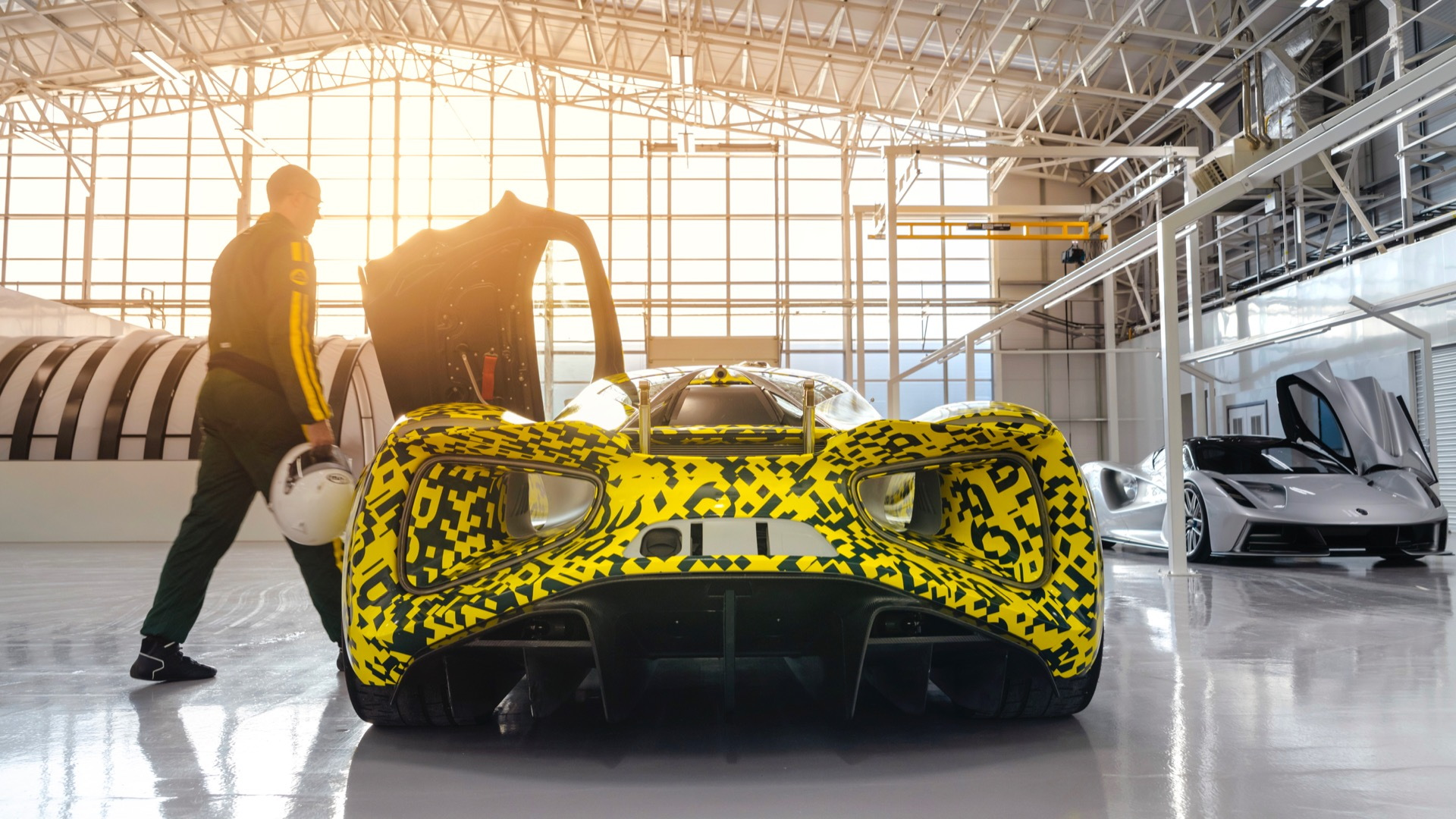 Lotus Evija production