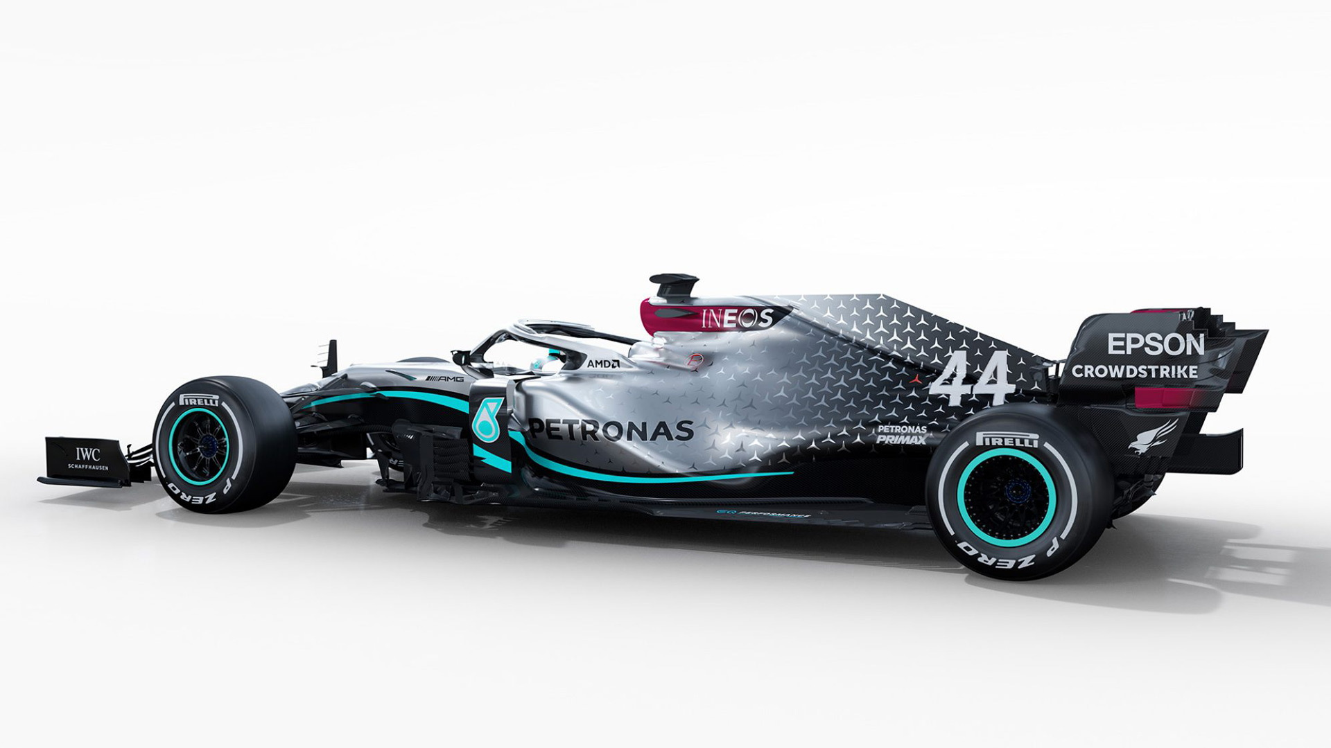 Mercedes-AMG F1 W11 EQ Performance 2020 Formula One race car