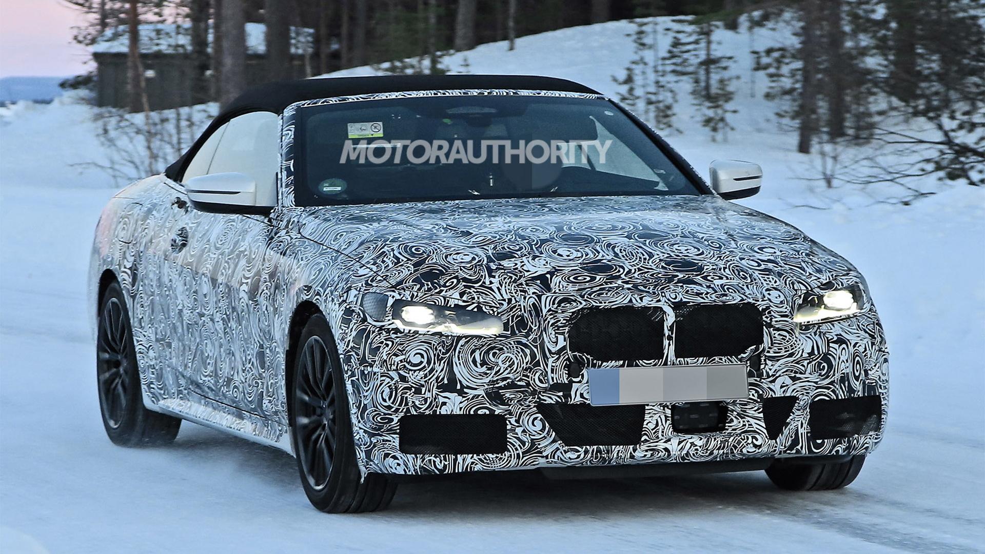 2021 BMW 4-Series Convertible - Photo credit:S. Baldauf/SB-Medien