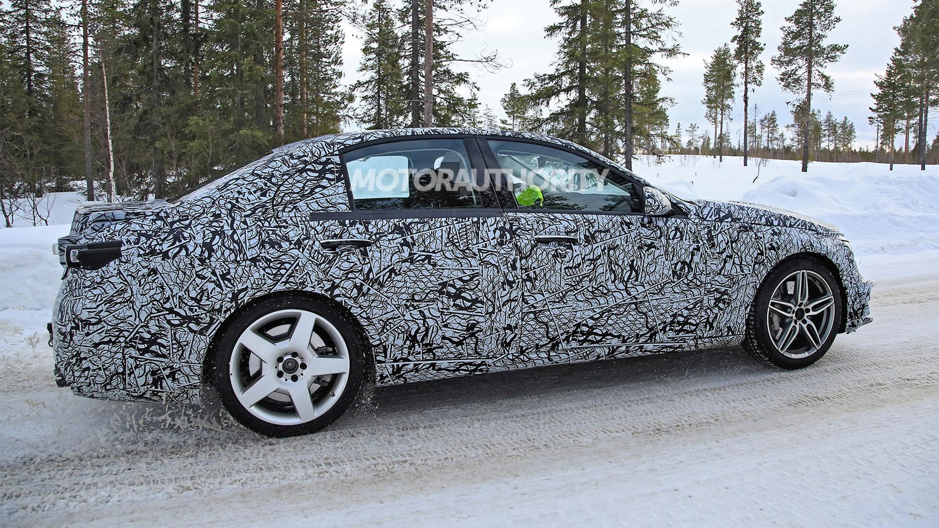 2022 Mercedes-AMG C53 spy shots - Photo credit: S. Baldauf/SB-Medien