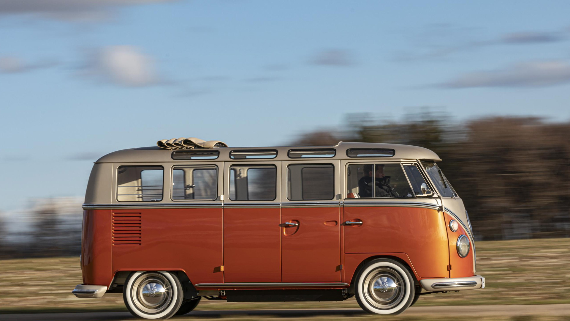 1966 Volkswagen Samba Bus with EV conversion from eClassics