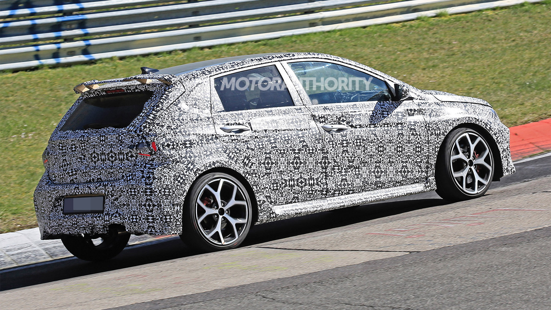 2021 Hyundai i20 N spy shots - Photo credit: S. Baldauf/SB-Medien