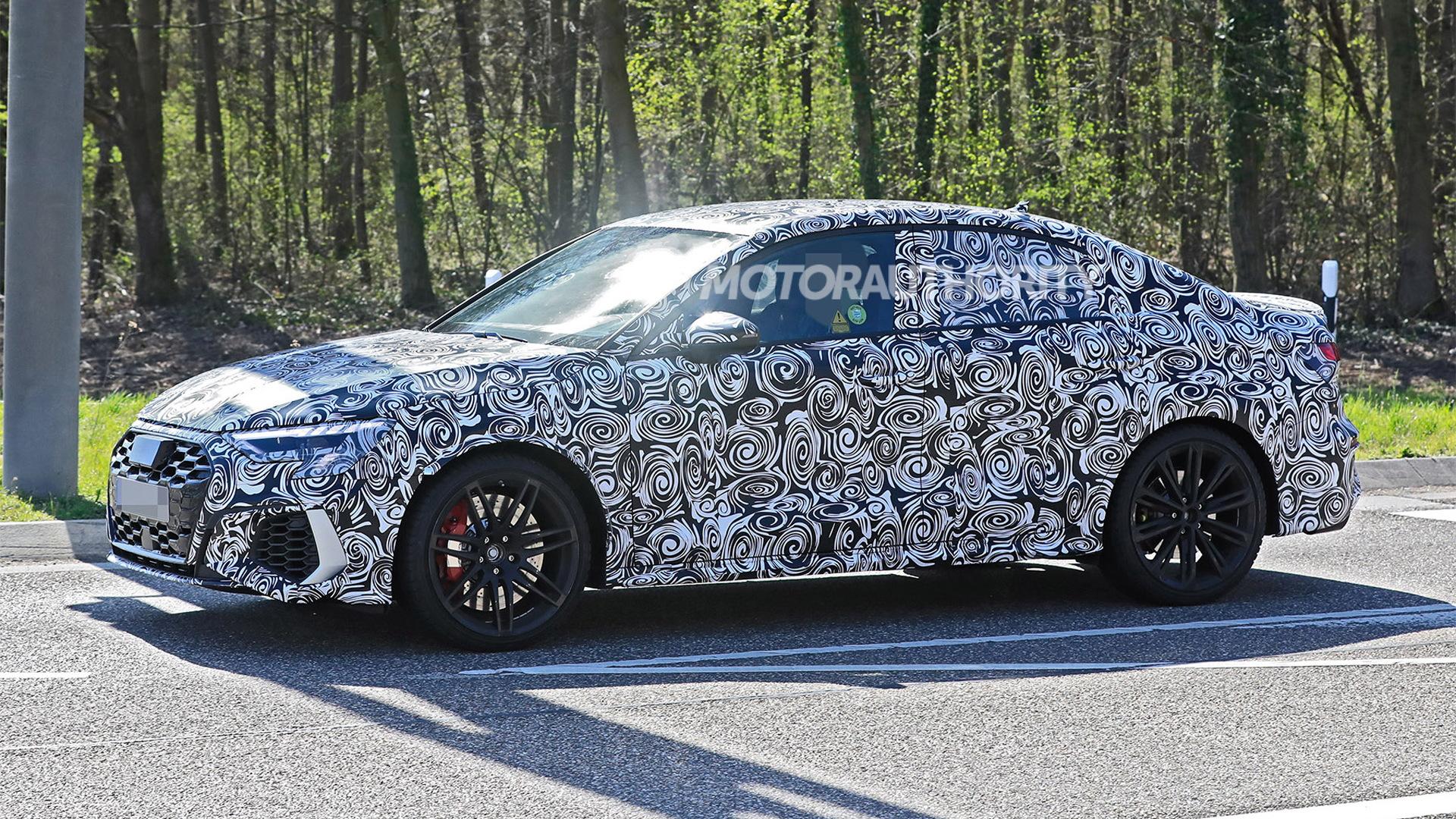 2022 Audi RS 3 spy shots - Photo credit:S. Baldauf/SB-Medien