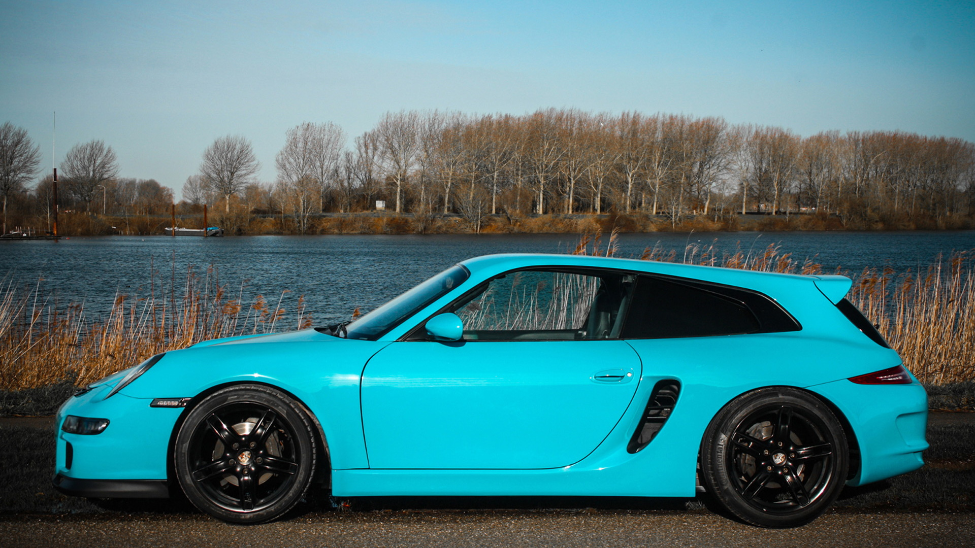 Porsche Boxster shooting brake by Van Thull Development