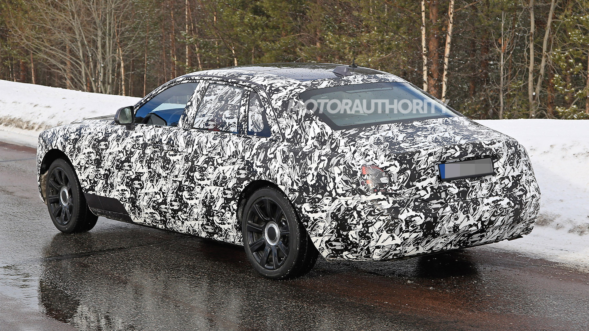 2021 Rolls-Royce Ghost spy shots - Photo credit: S. Baldauf/SB-Medien
