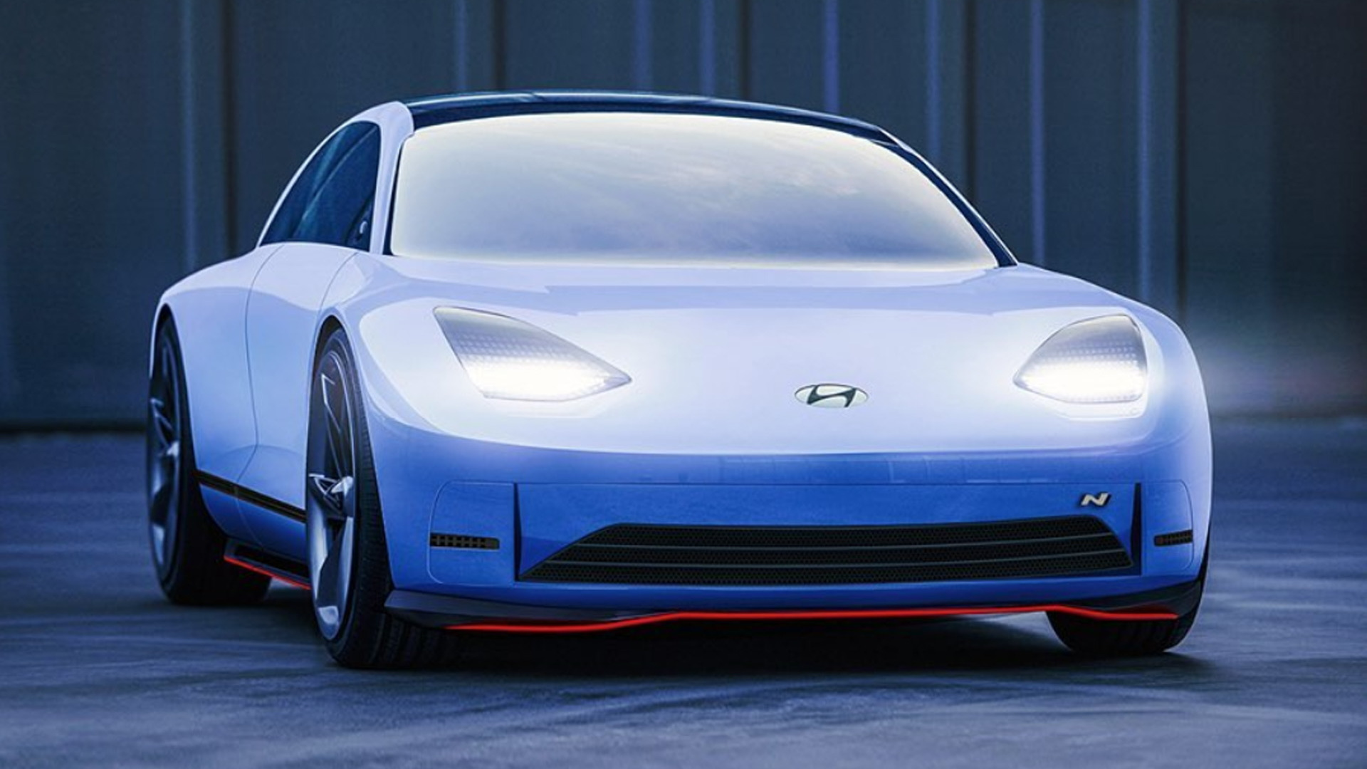 Hyundai Prophecy N concept design