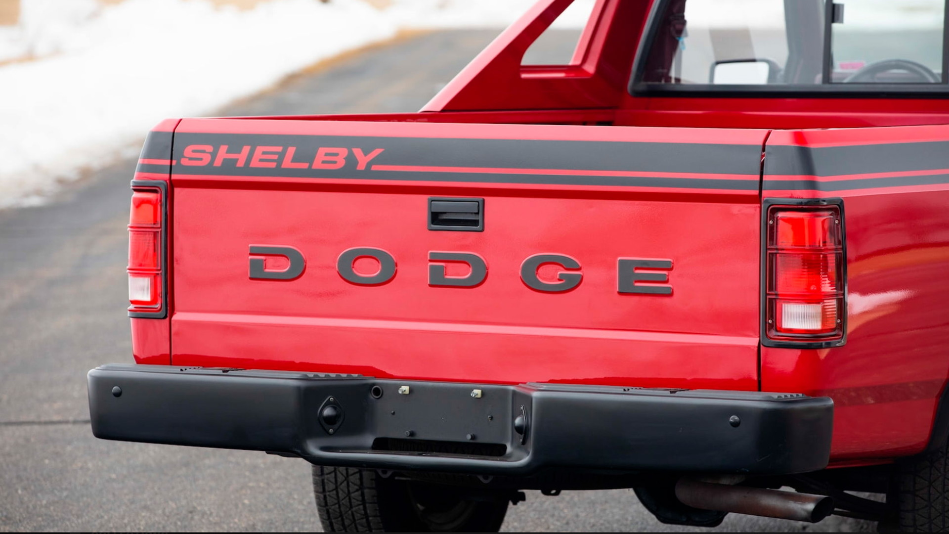 1989 Dodge Shelby Dakota - Photo credit: Mecum Auctions