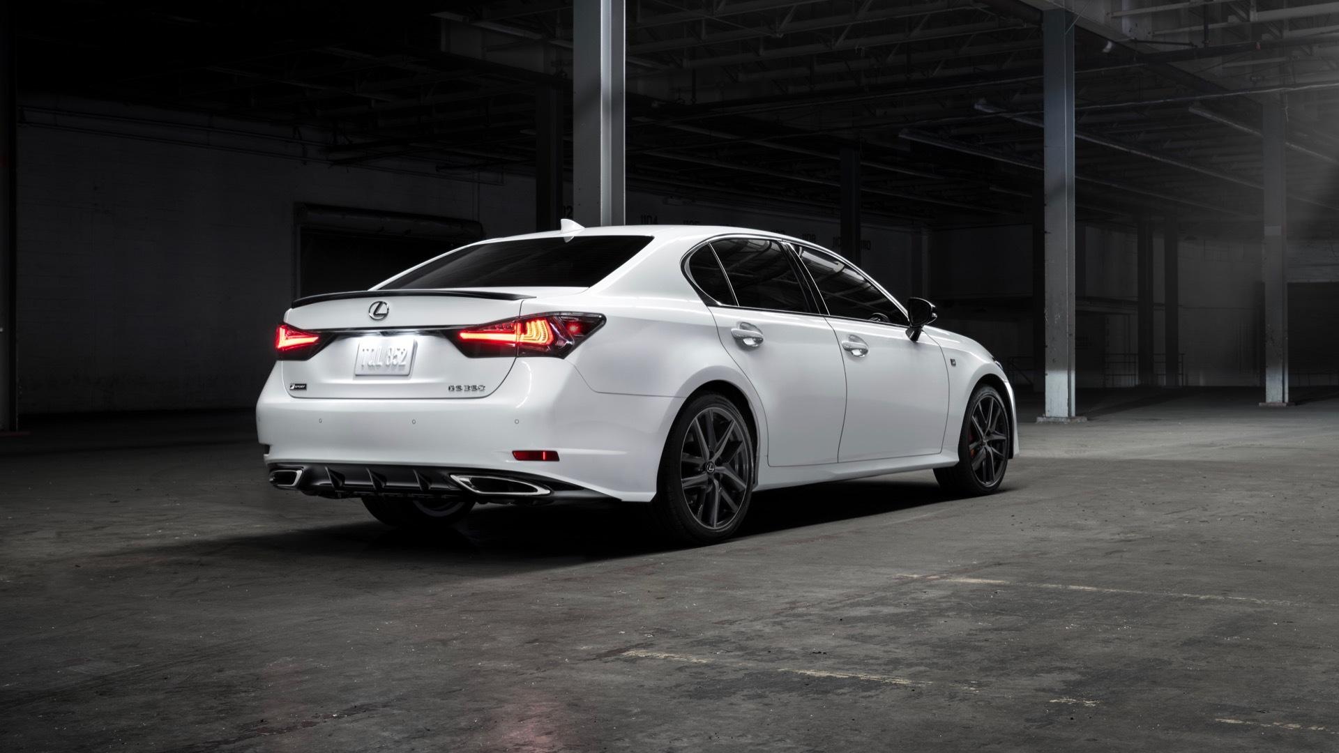 2020 Lexus GS Black Line special edition