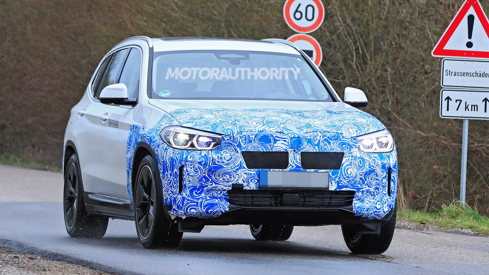 BMW iX3 electric SUV leaked ahead of debut