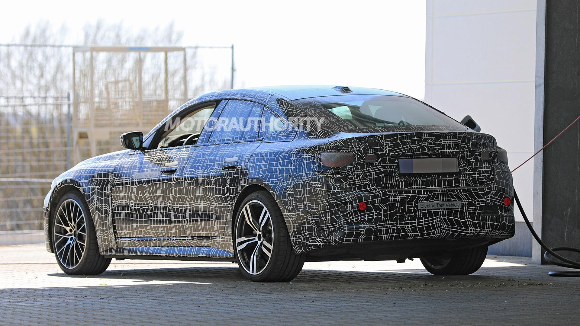 2022 BMW i4 spy shots - Photo credit:S. Baldauf/SB-Medien