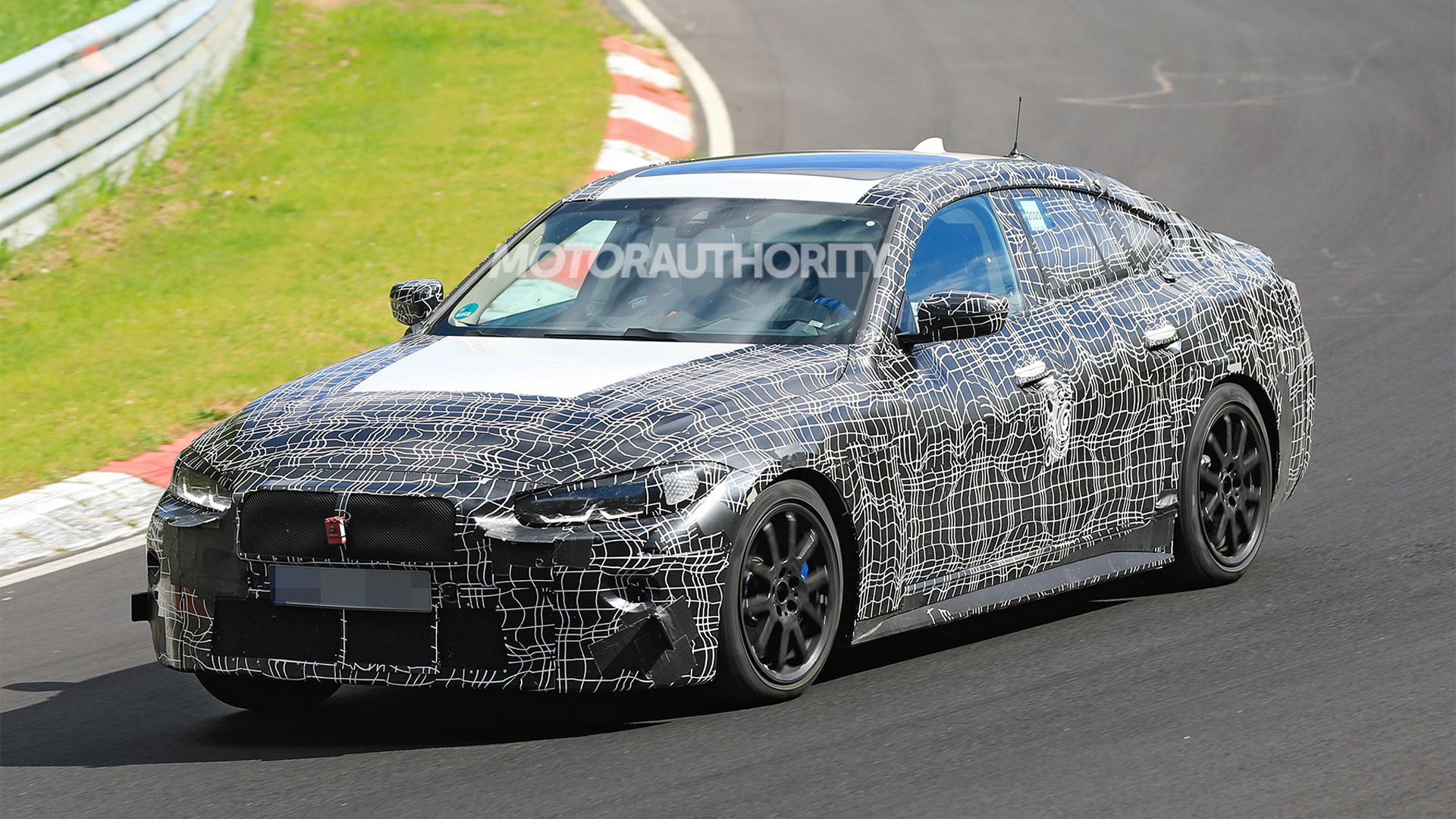 2022 BMW 4-Series Gran Coupe spy shots - Photo credit: S. Baldauf/SB-Medien