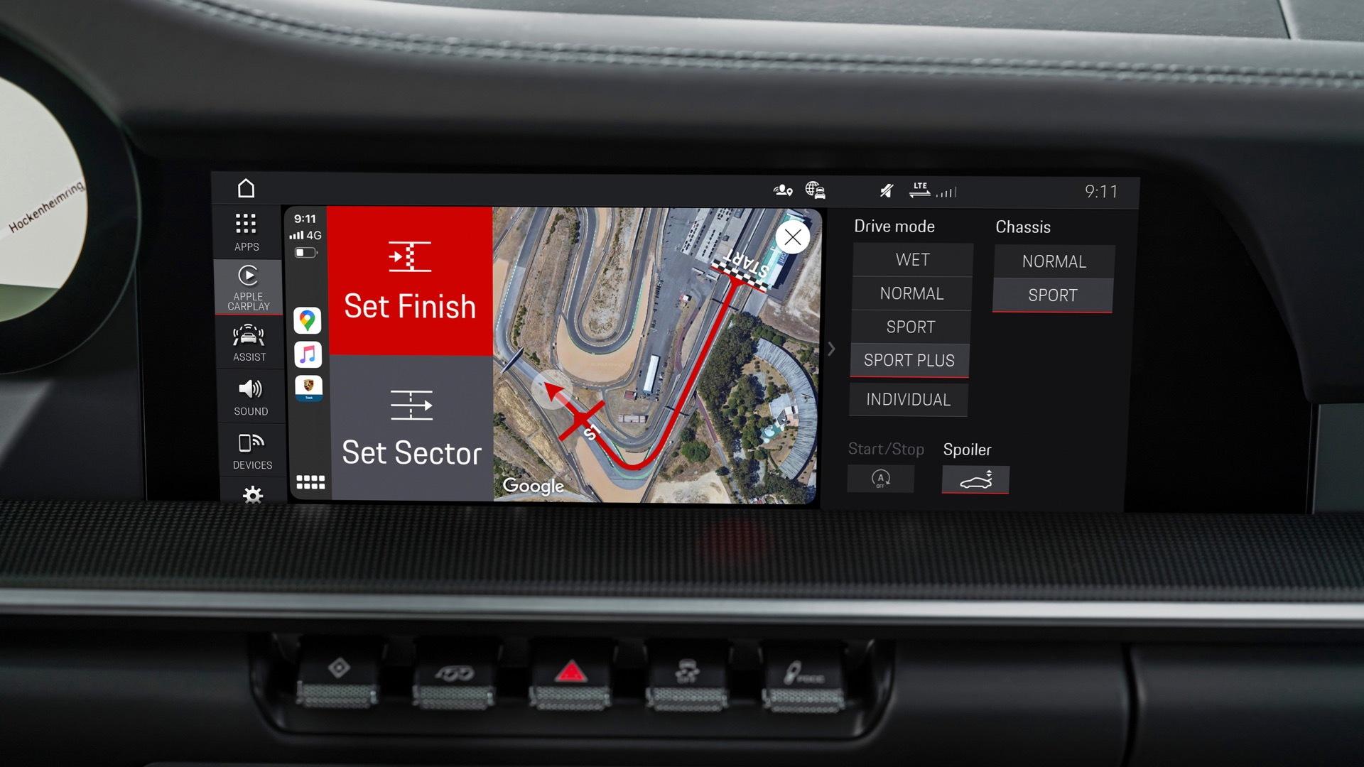 Porsche Track Precision App