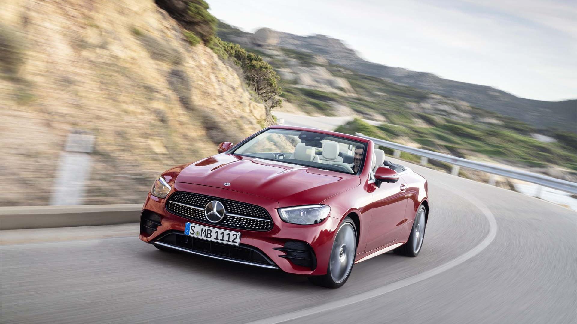 2021 Mercedes-Benz E450 cabriolet