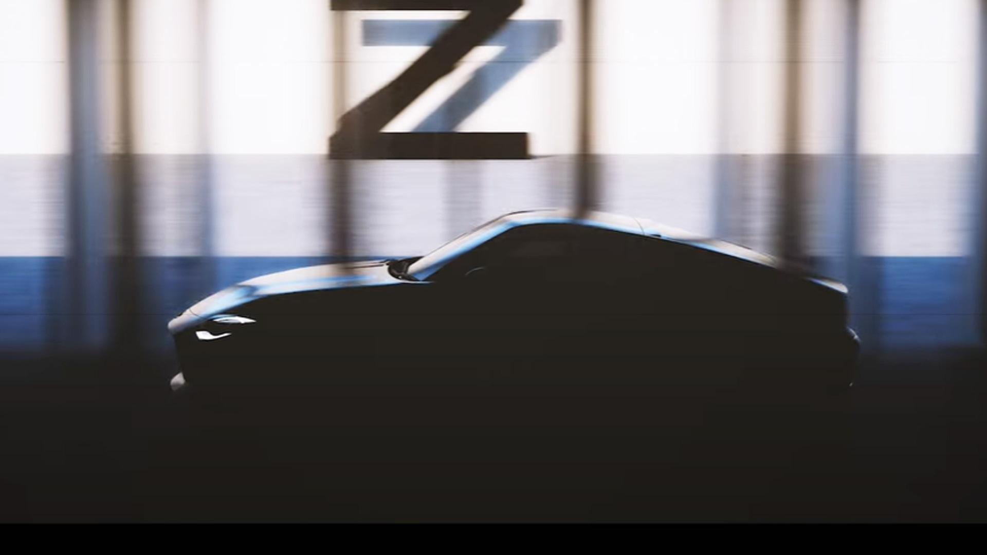Teaser for next Nissan Z sports car