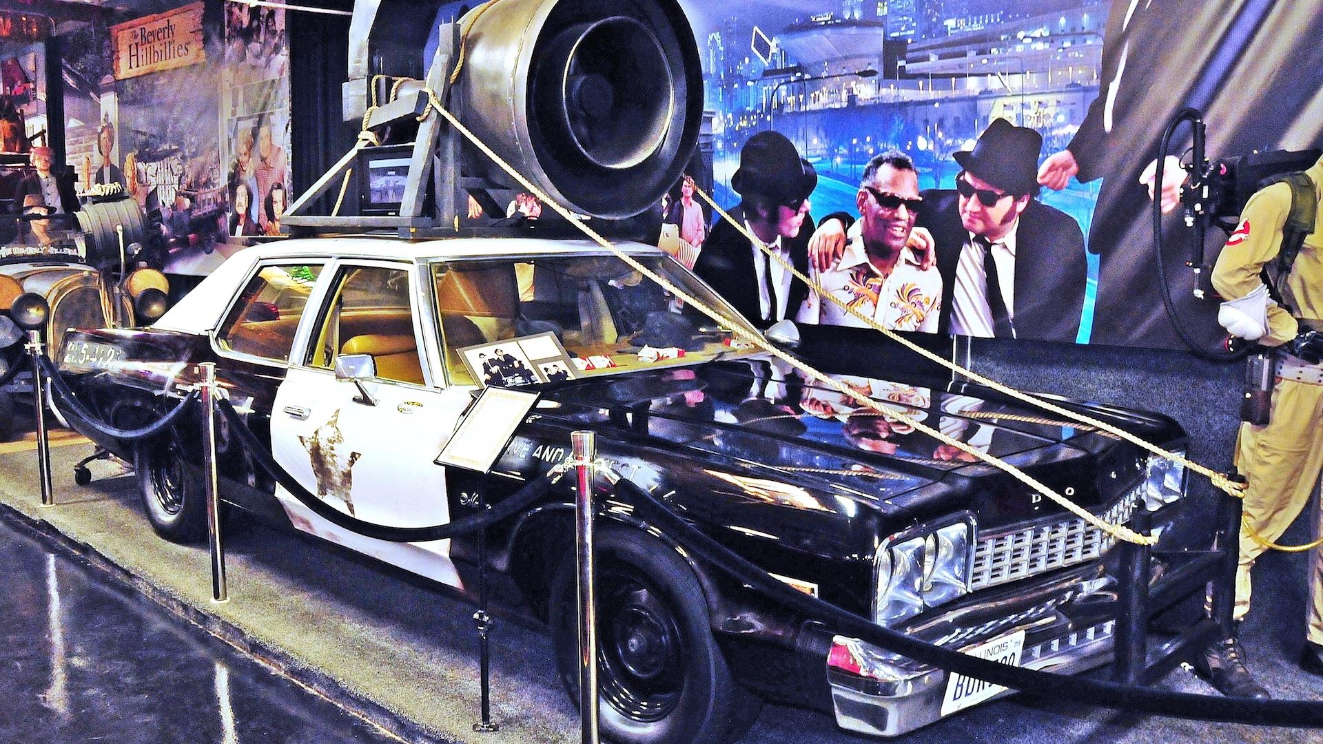 Replica Bluesmobile, courtesy of Volo Auto Museum